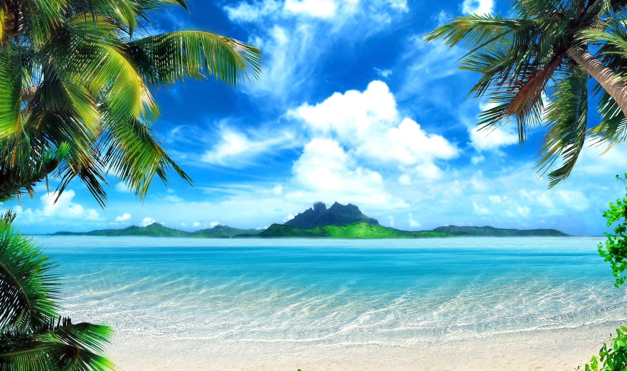 Tropical Desktop Backgrounds 54 Pictures