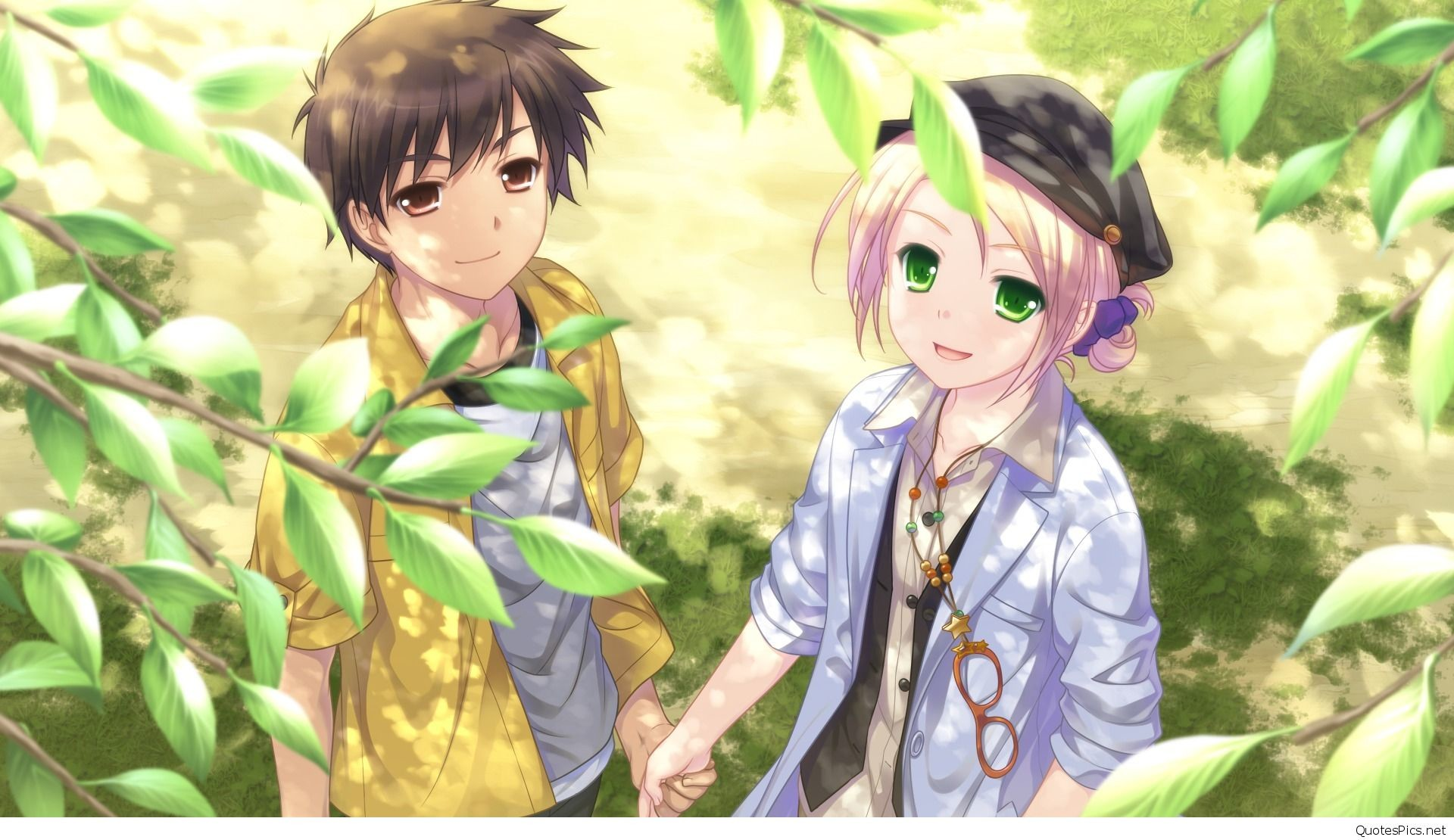 Sweet Couple Anime Wallpaper (58+ pictures)