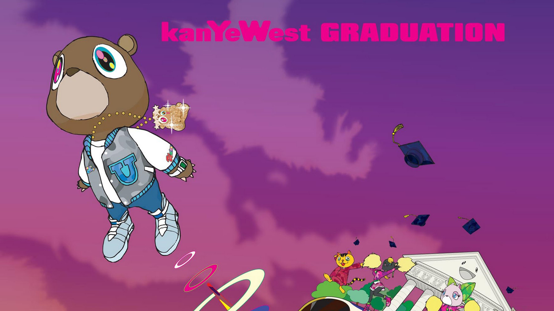Kanye West Graduation Wallpaper 54 Pictures