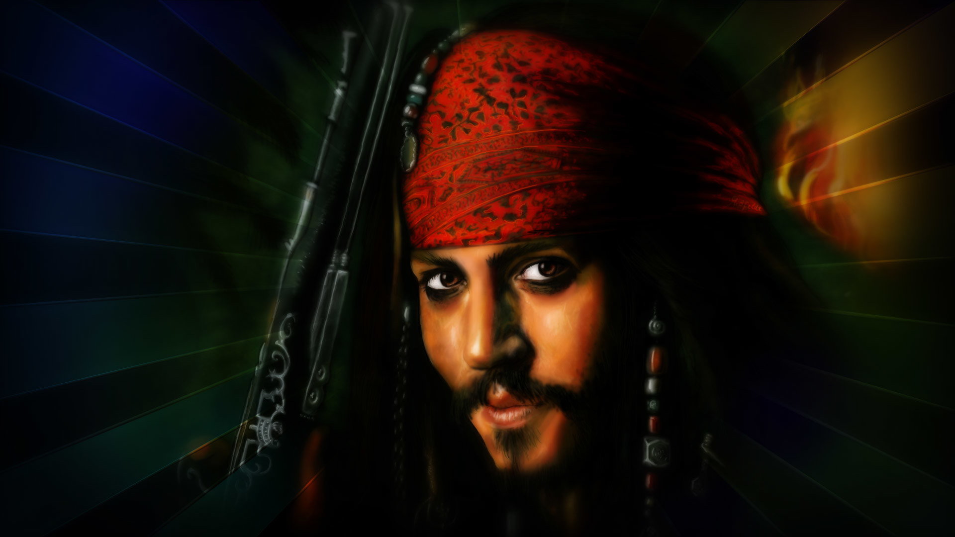1080p Images Jack Sparrow Animated Hd Wallpaper