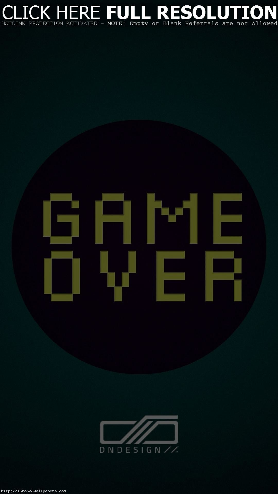 game over pictures