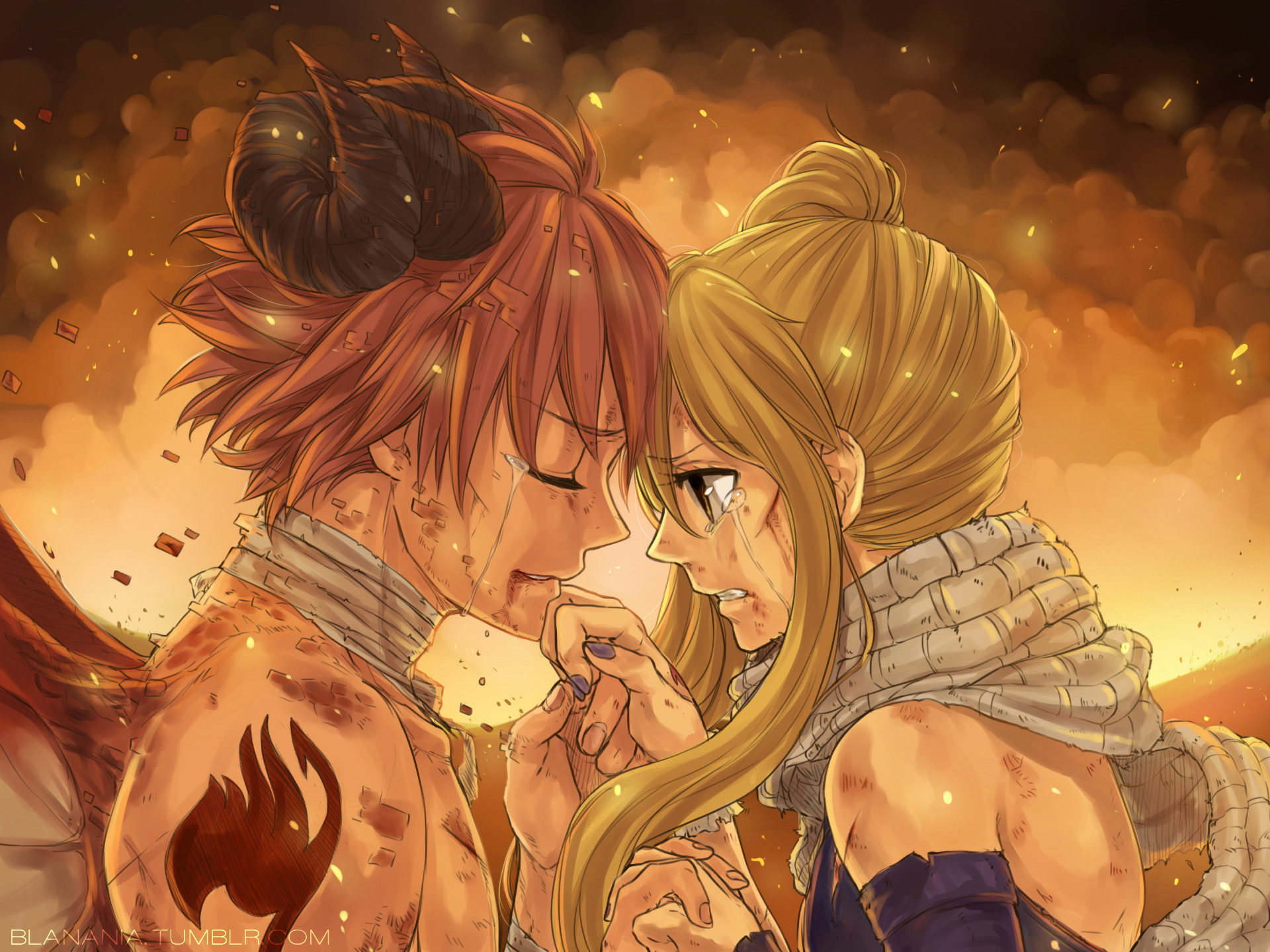 Natsu and Lucy Wallpapers (75+ pictures)