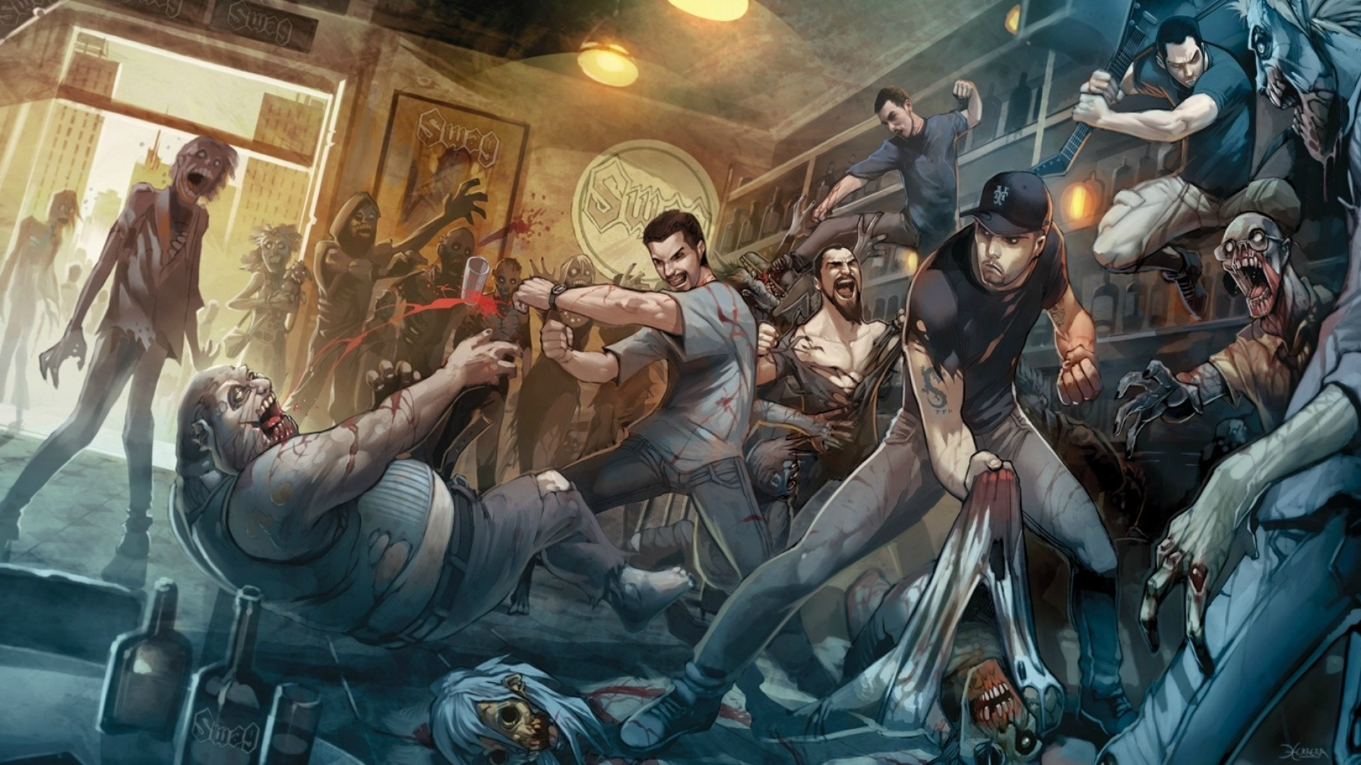 Zombie Wallpaper 1080p 79 Pictures