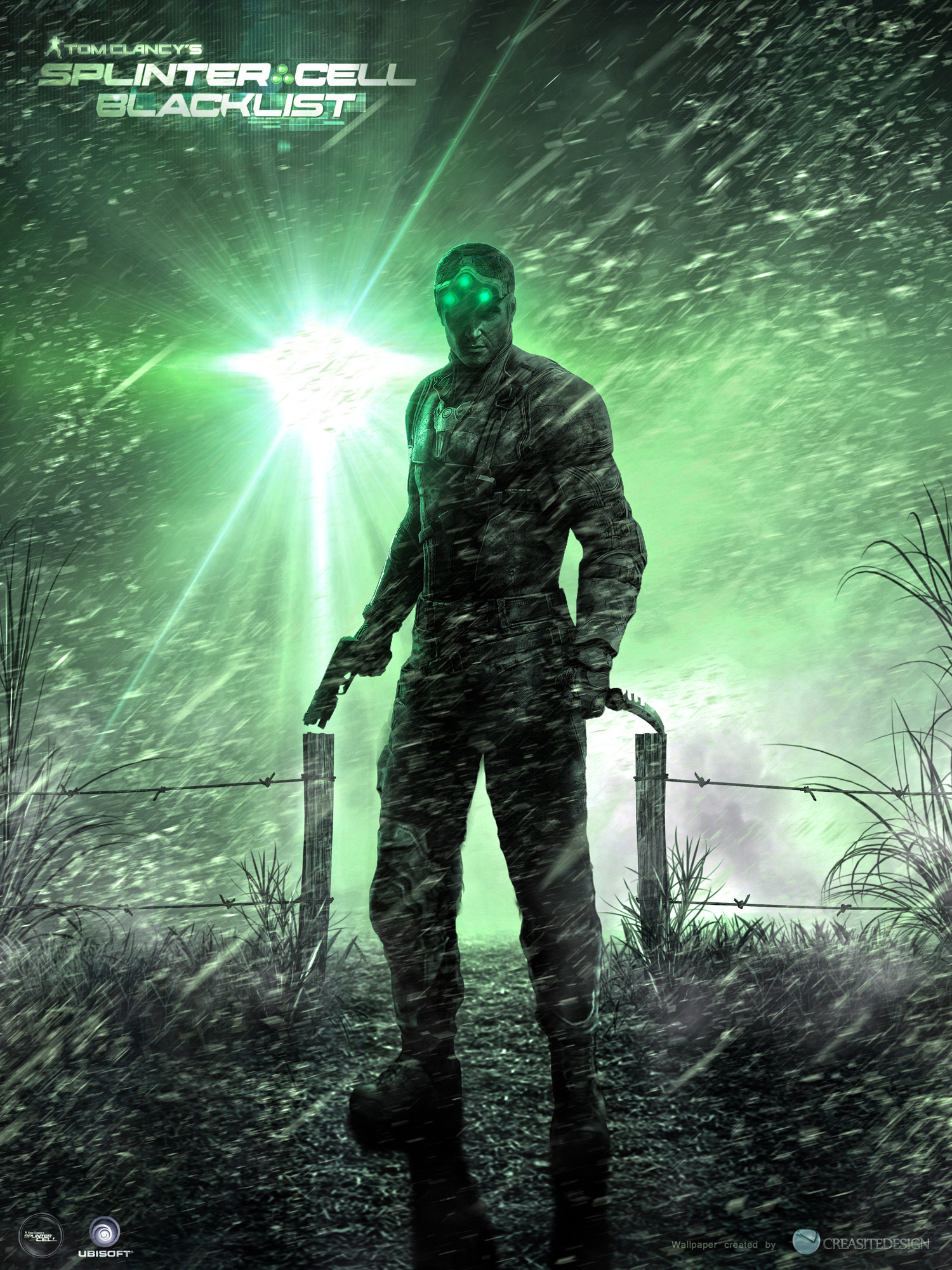 Wallpaper Splinter Cell Tom Clancys Splinter Cell Blacklist