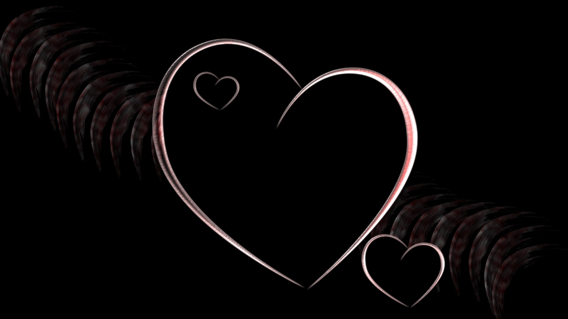 love black wallpaper hd