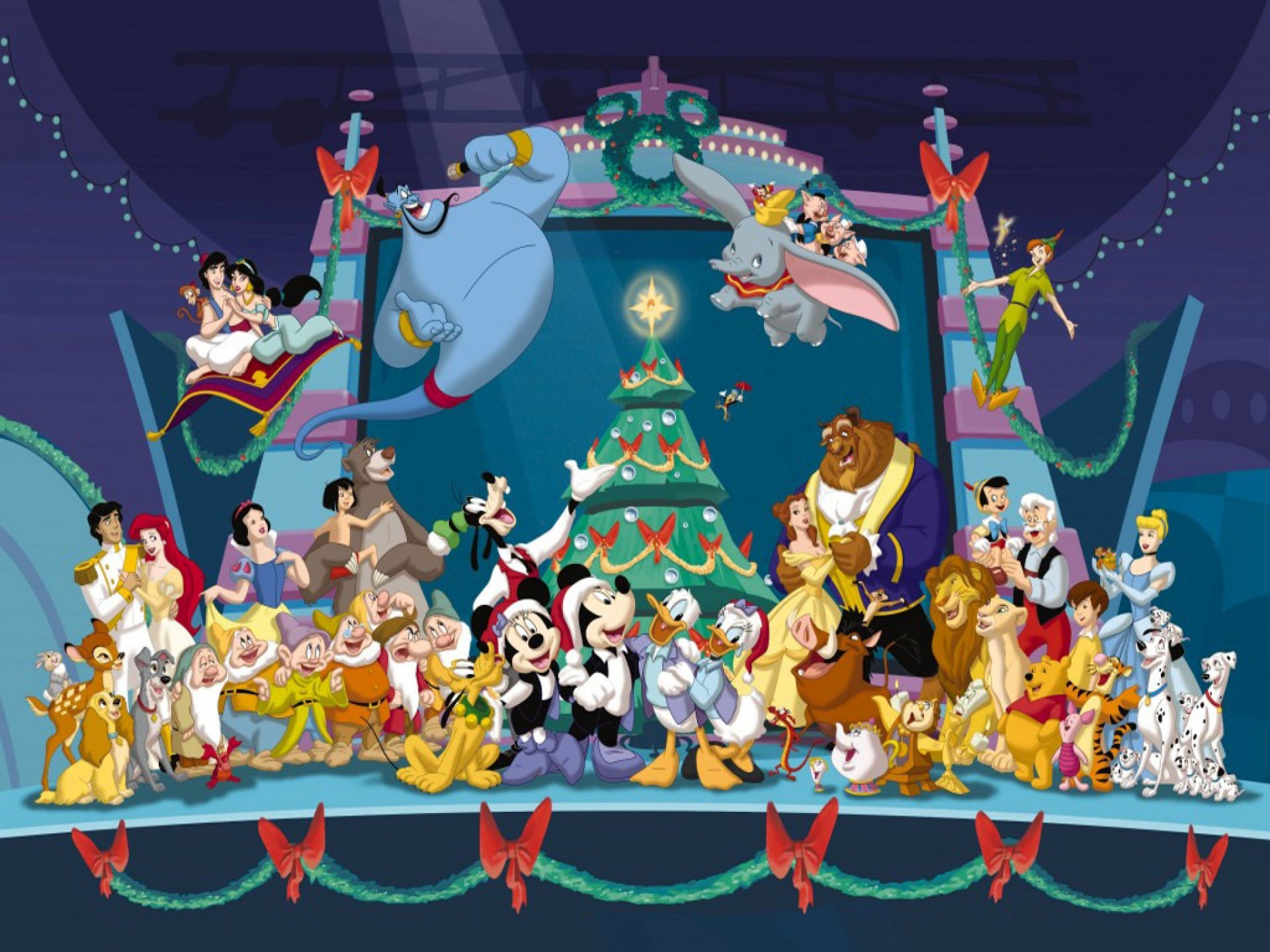 Disney Christmas Wallpaper 63 Pictures