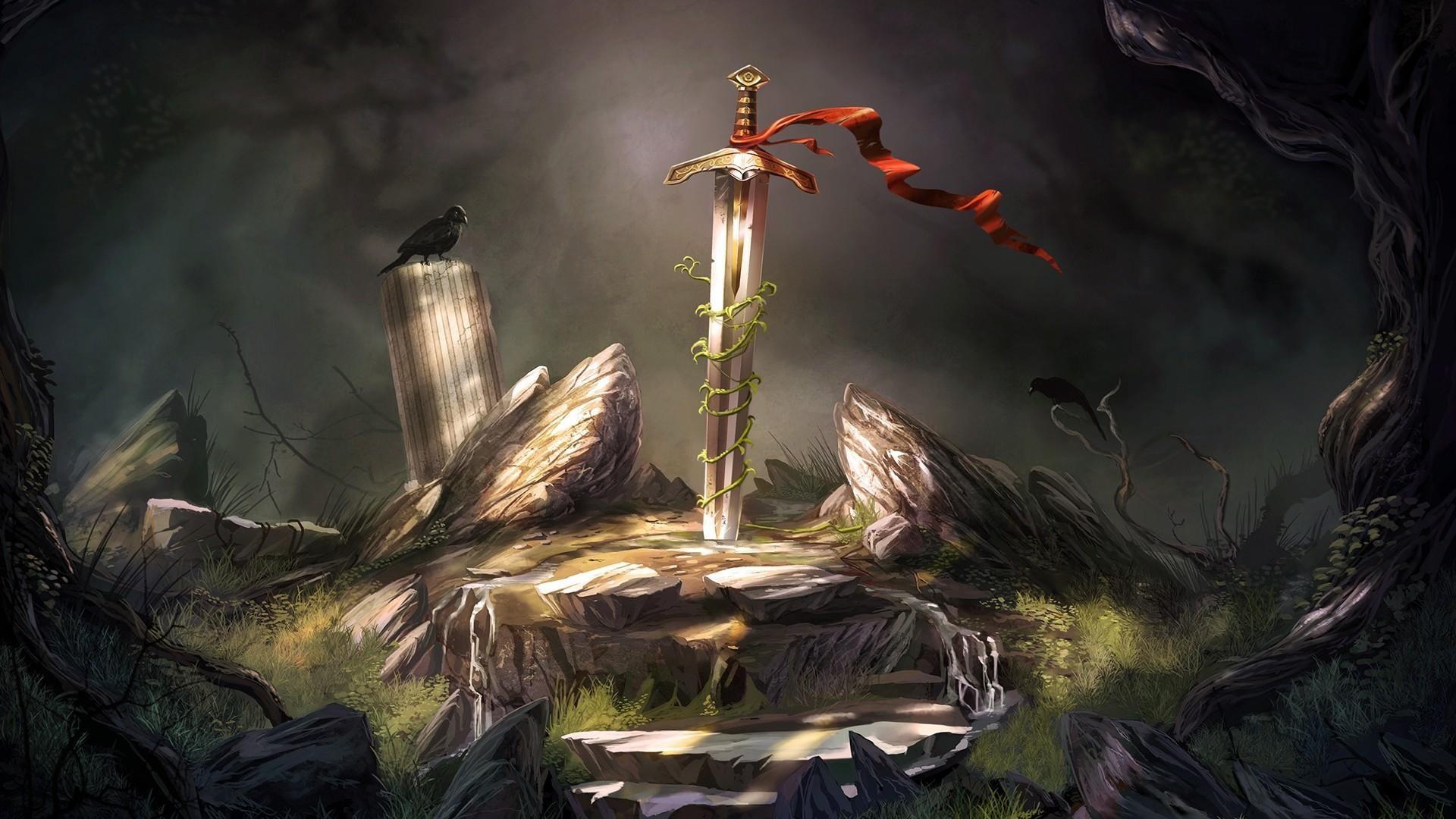 Excalibur Sword 1920x1080