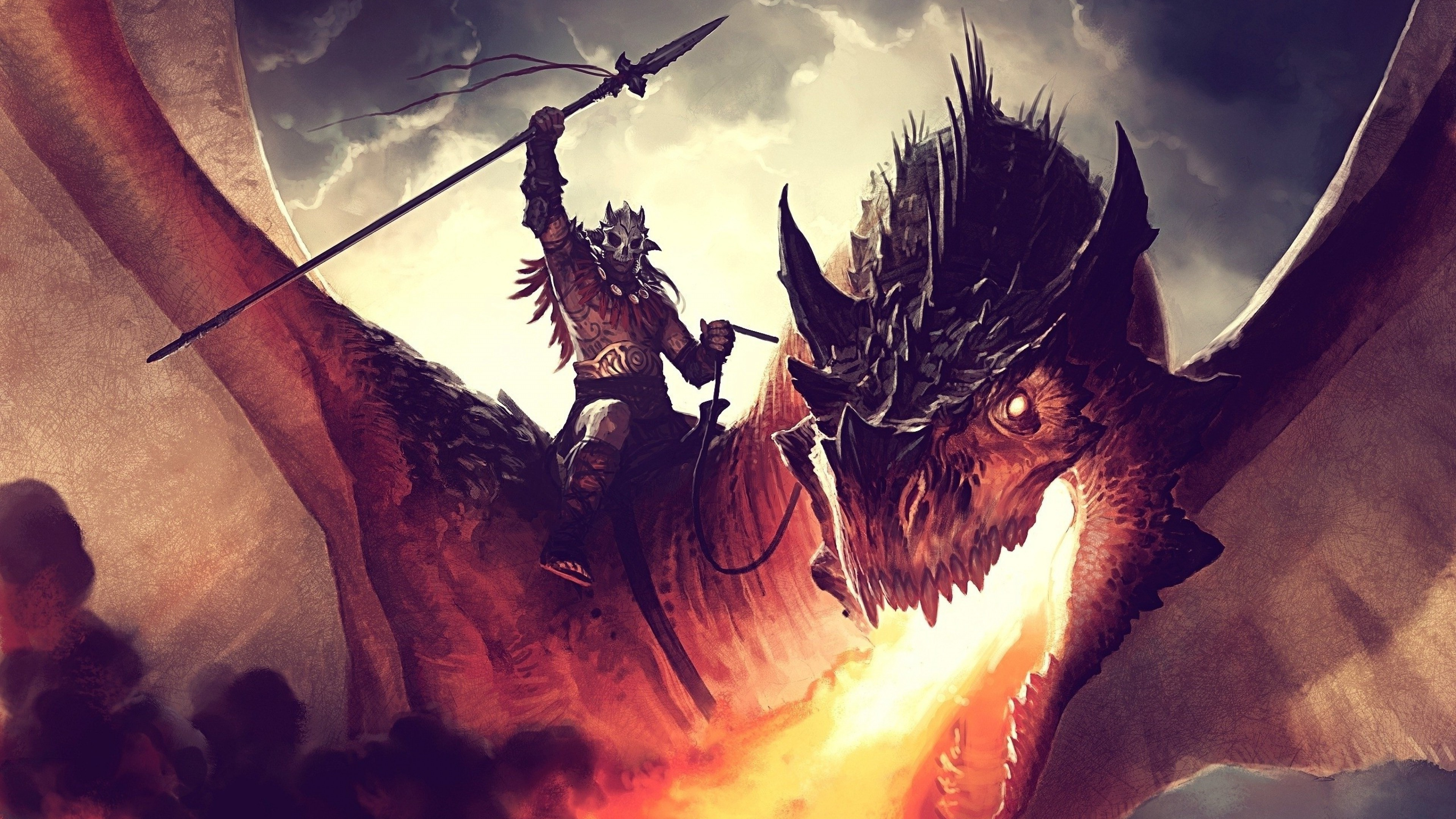 Dragon Warrior Wallpaper 74 Pictures