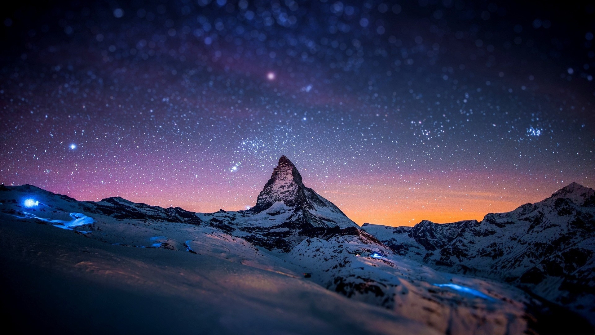 Winter Night Wallpaper 81 Pictures
