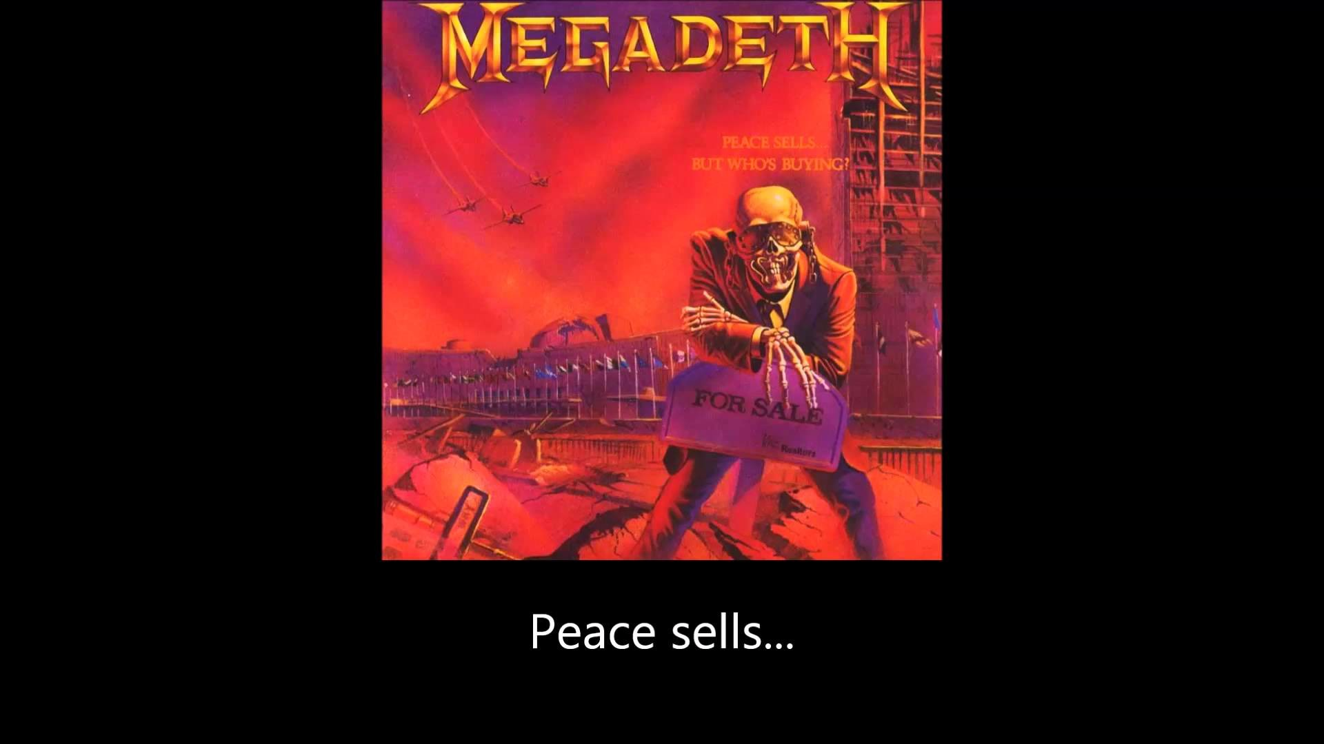 Megadeth Wallpaper Peace Sells 63 Pictures