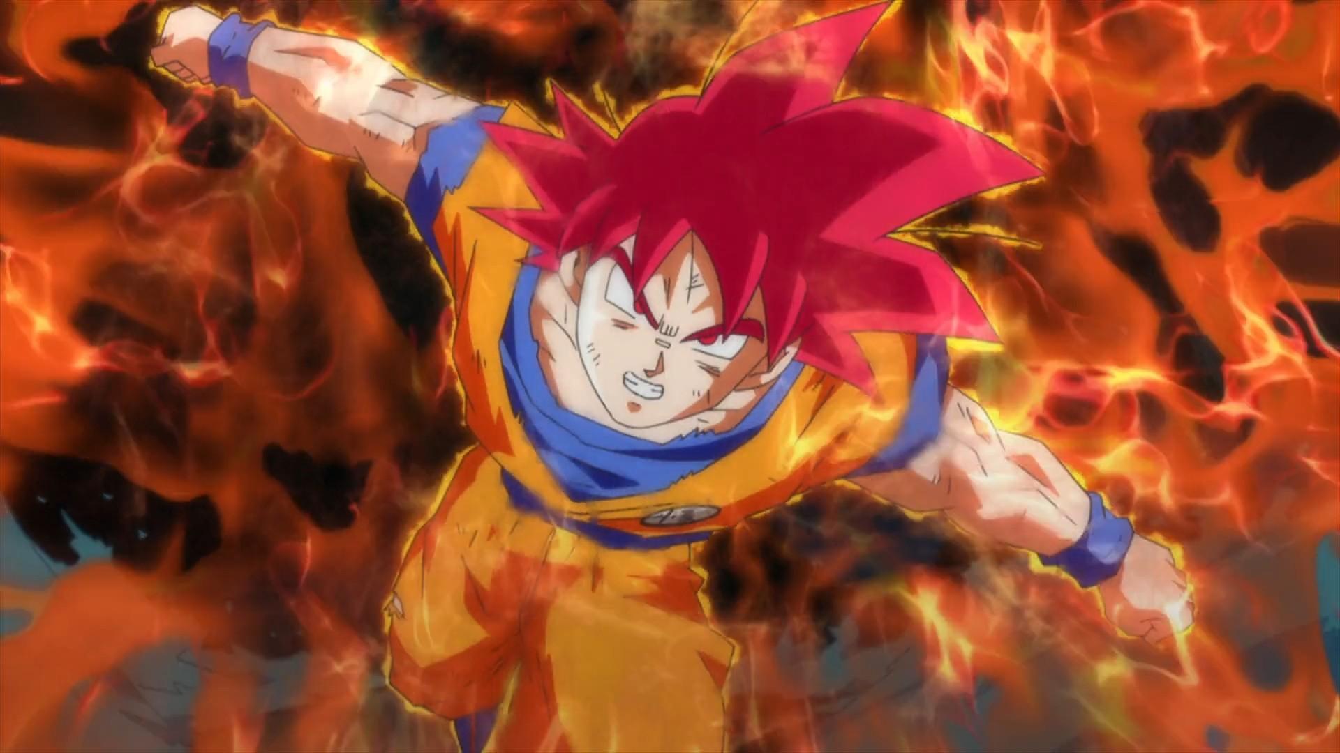 Goku Super Saiyan God Wallpapers (57+ pictures)