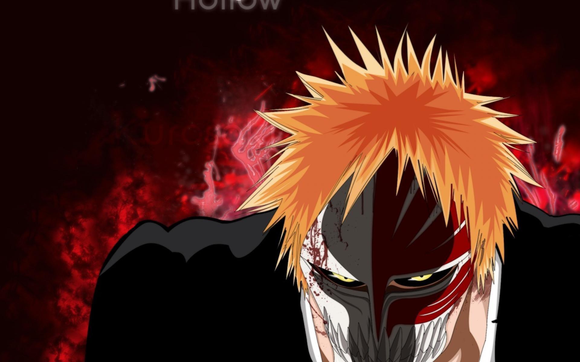 Ichigo hollow mask bankai