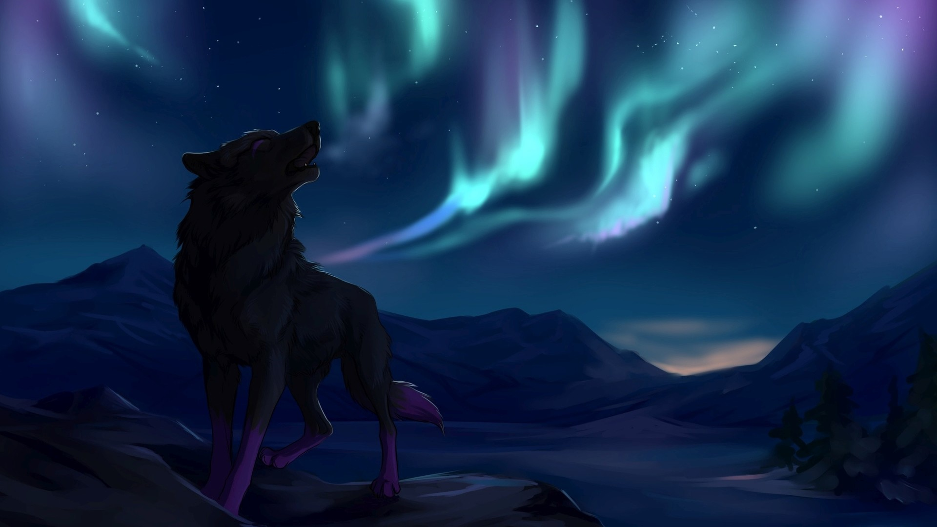 Howling wolf wallpaper 64 pictures - Wolf howling hd ...