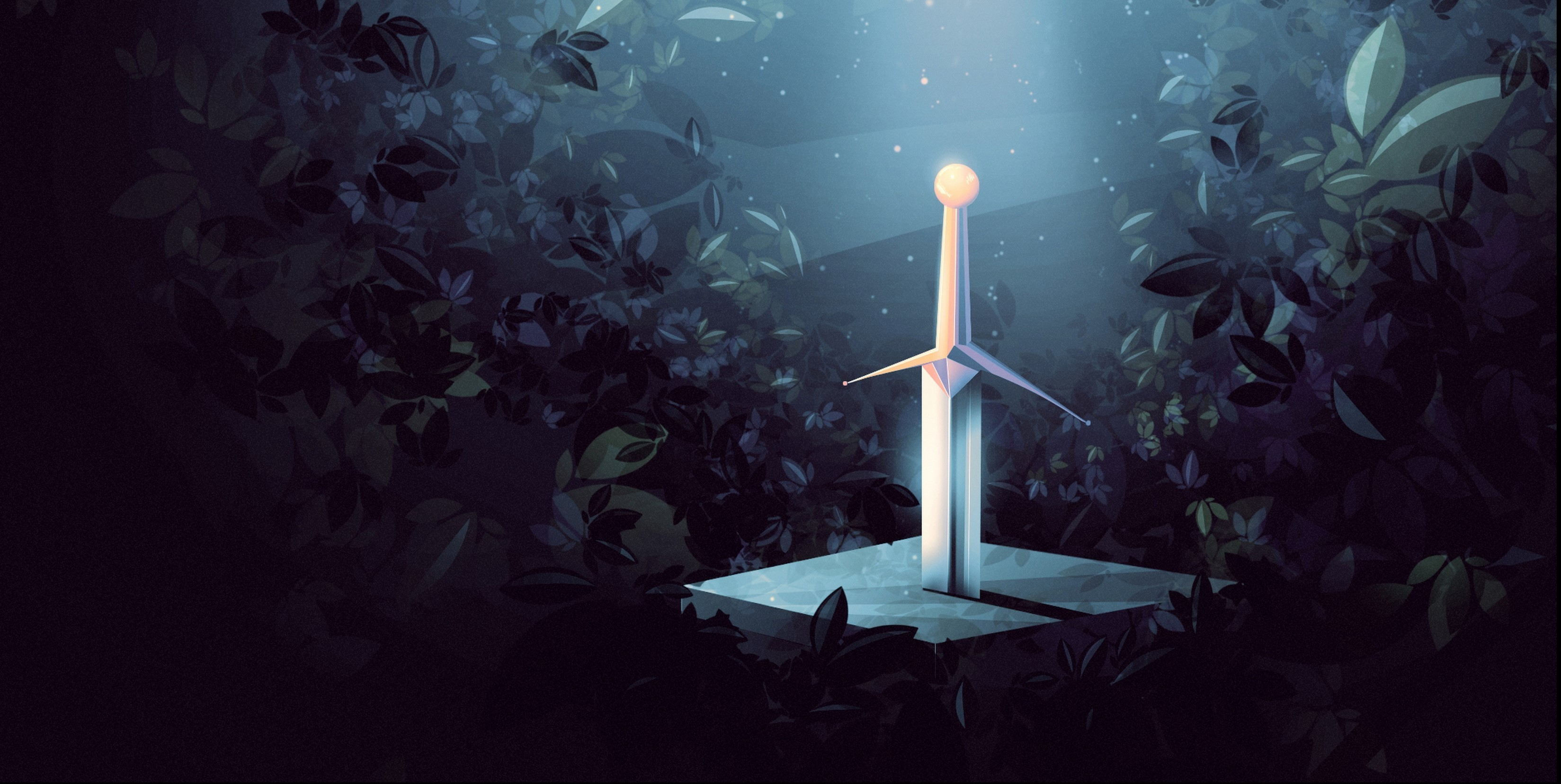 General 3297x1656 Excalibur fantasy art artwork sword 3297x1656
