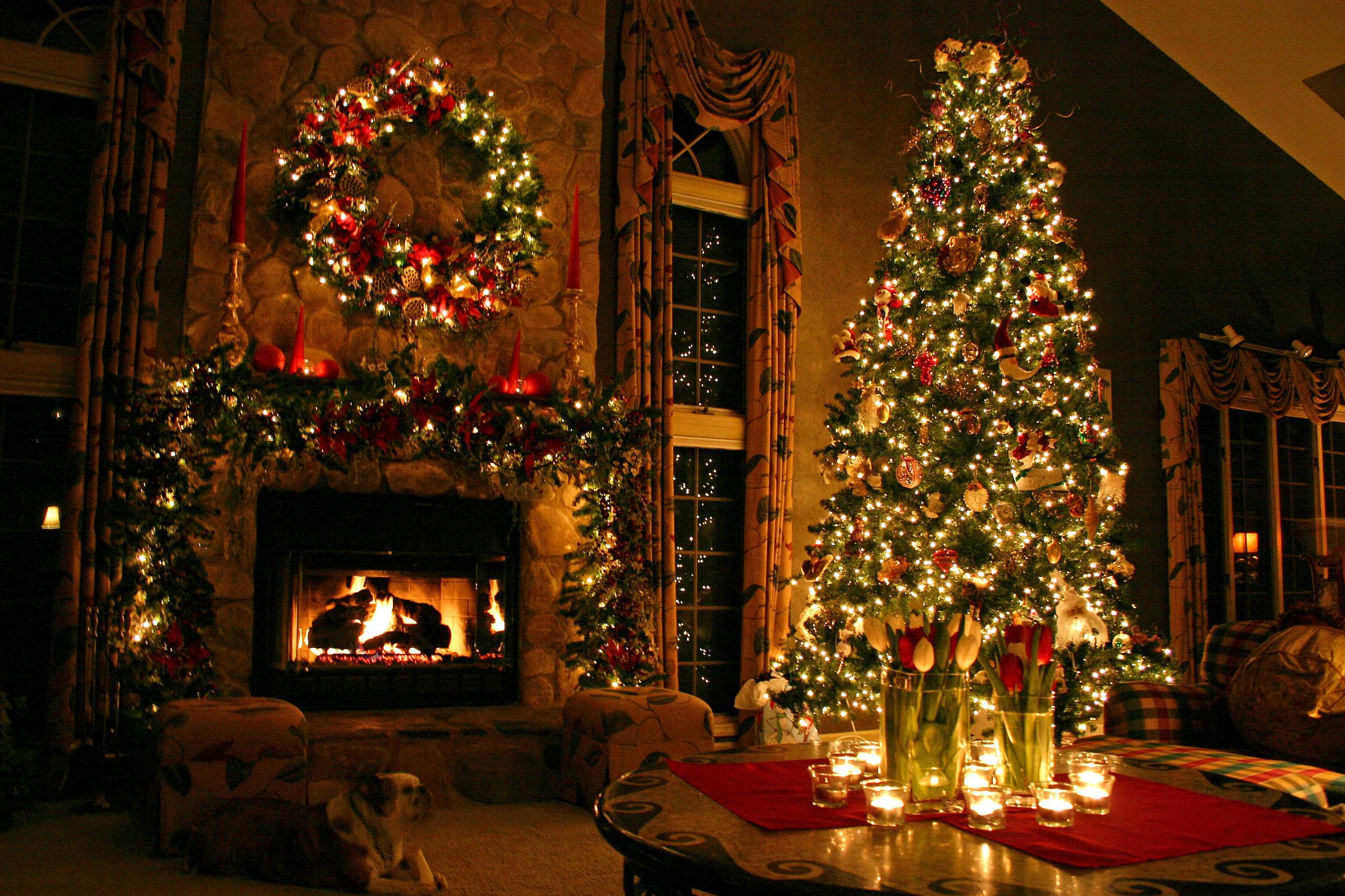Christmas Lights Desktop Wallpaper 60 Pictures