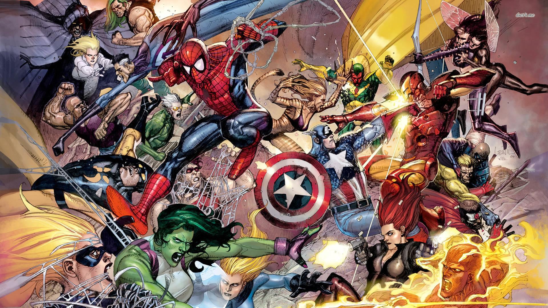 Marvel Superheroes Wallpaper 78 Pictures
