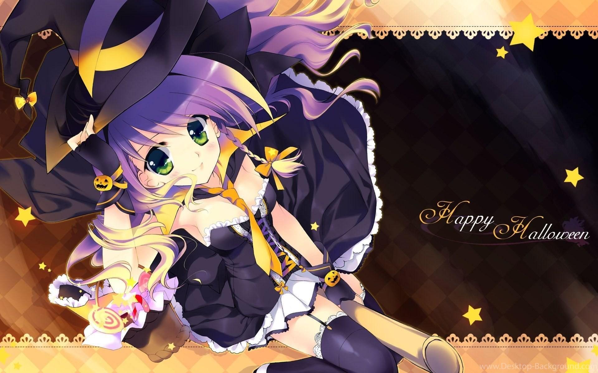 30+ Anime Halloween Wallpaper Cute Pics