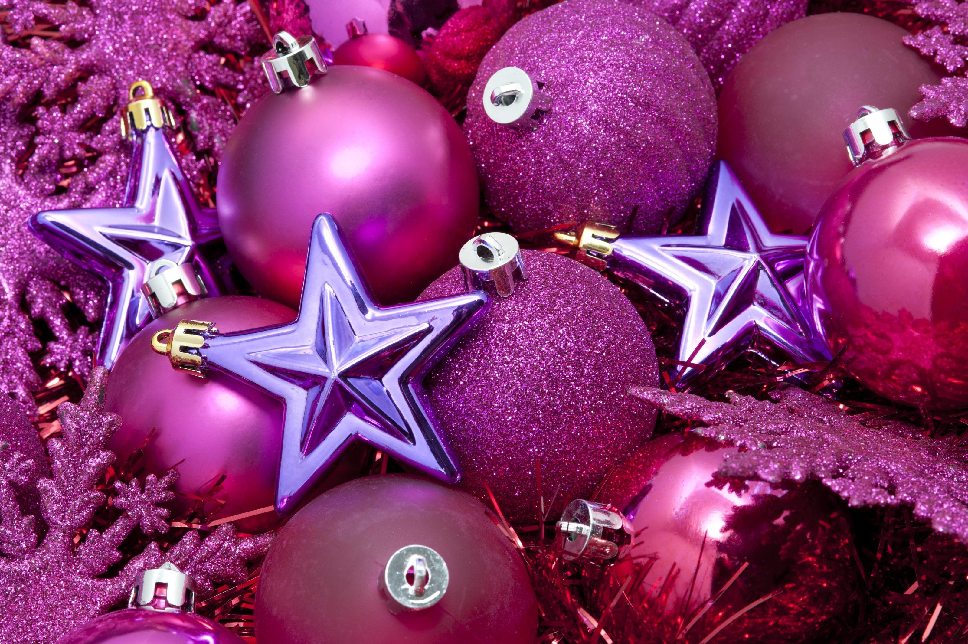 Download Christmas Wallpaper Pink