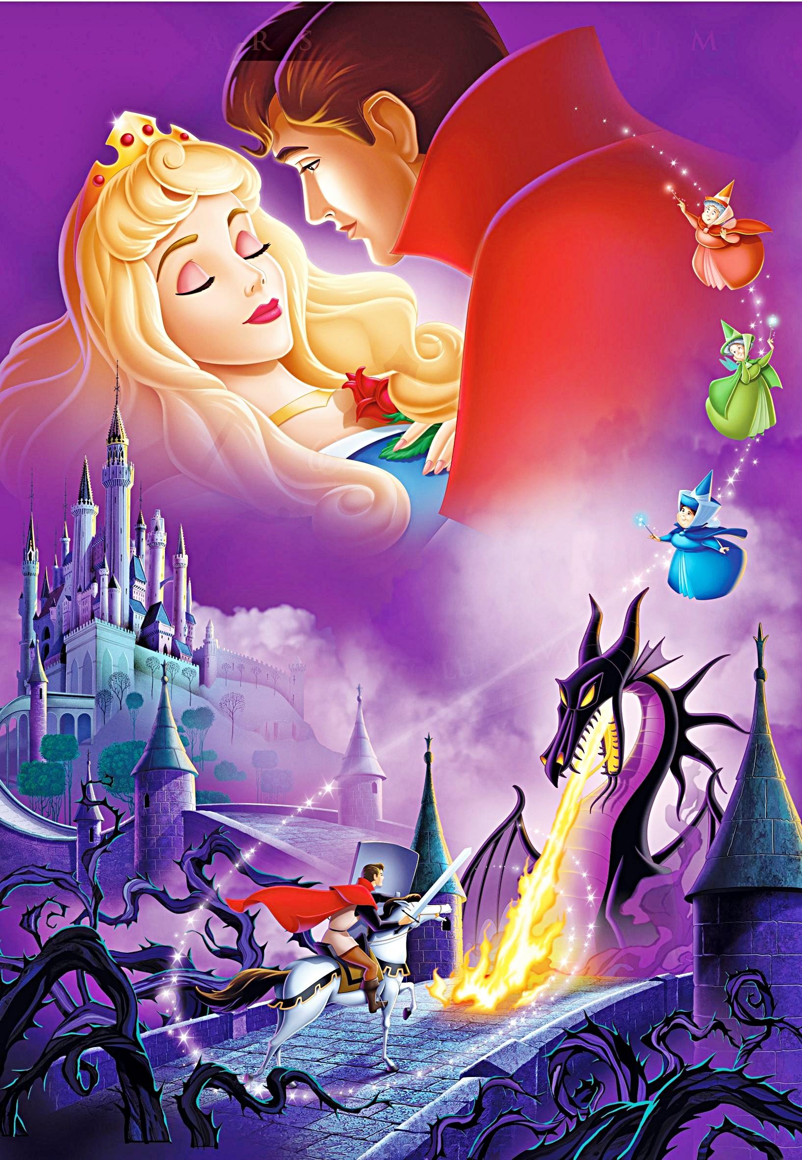 Walt disney Posters - Sleeping Beauty - karakter walt