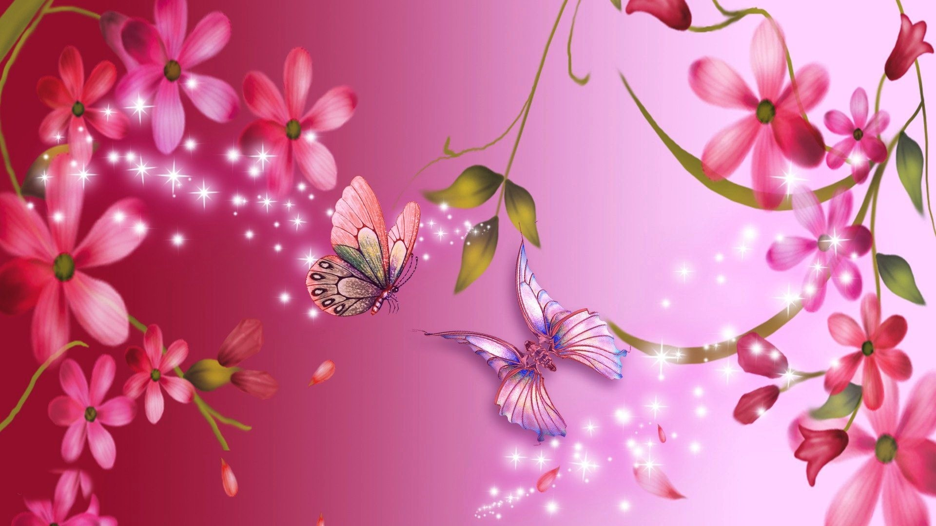 Pink Flower Background 53 Pictures