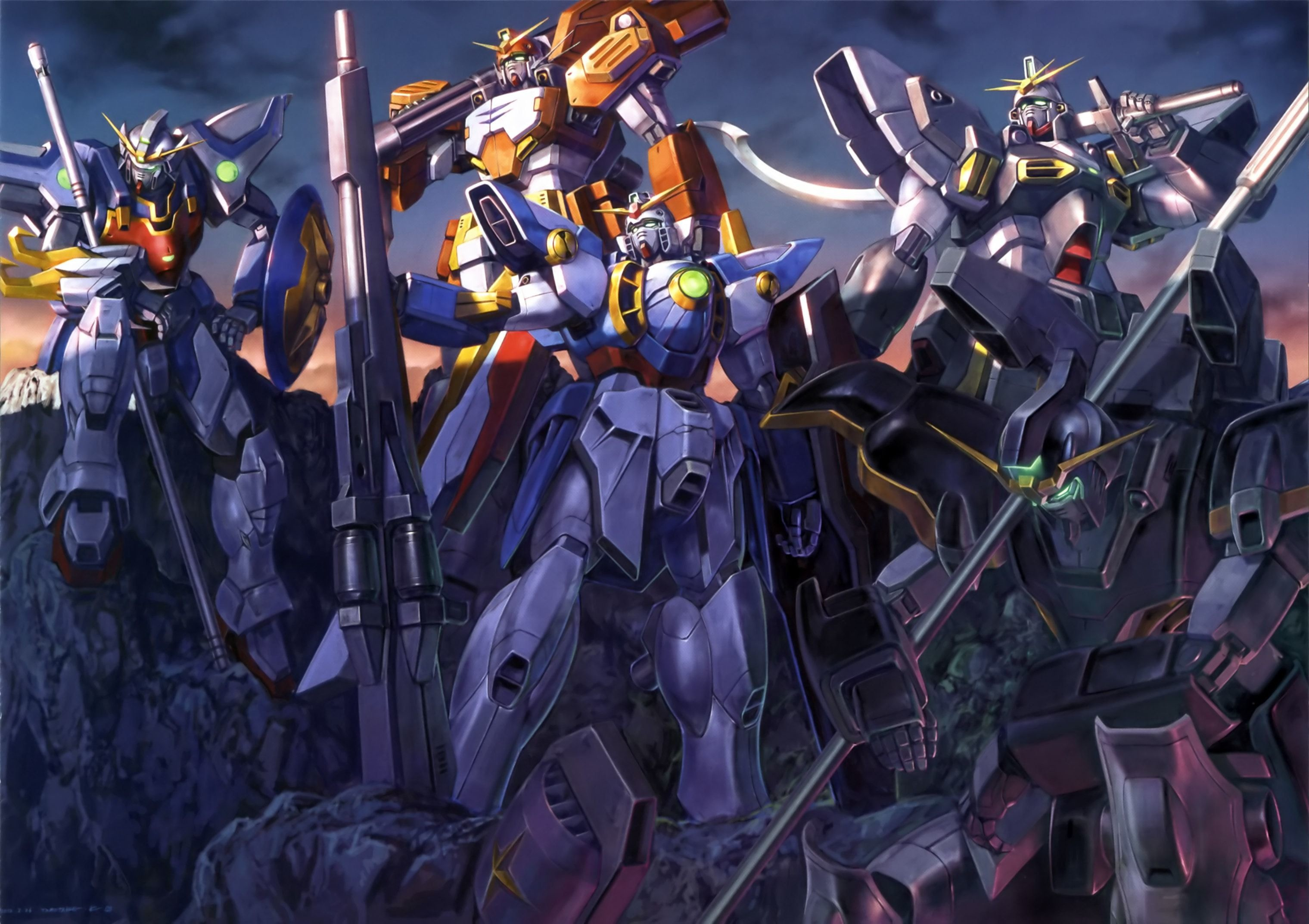 Gundam Wing Wallpaper 66 Pictures