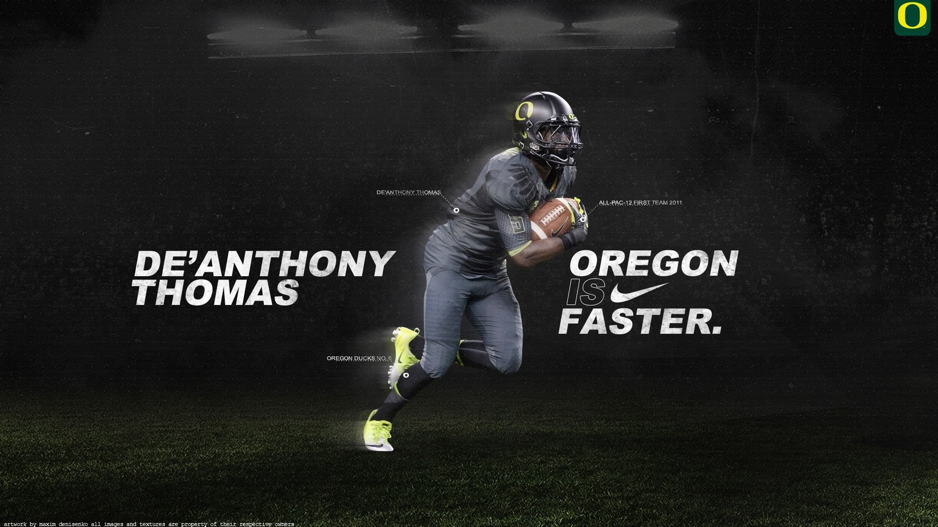 1920x1080 Oregon Football Poster 2013 wallpaper - 1111986