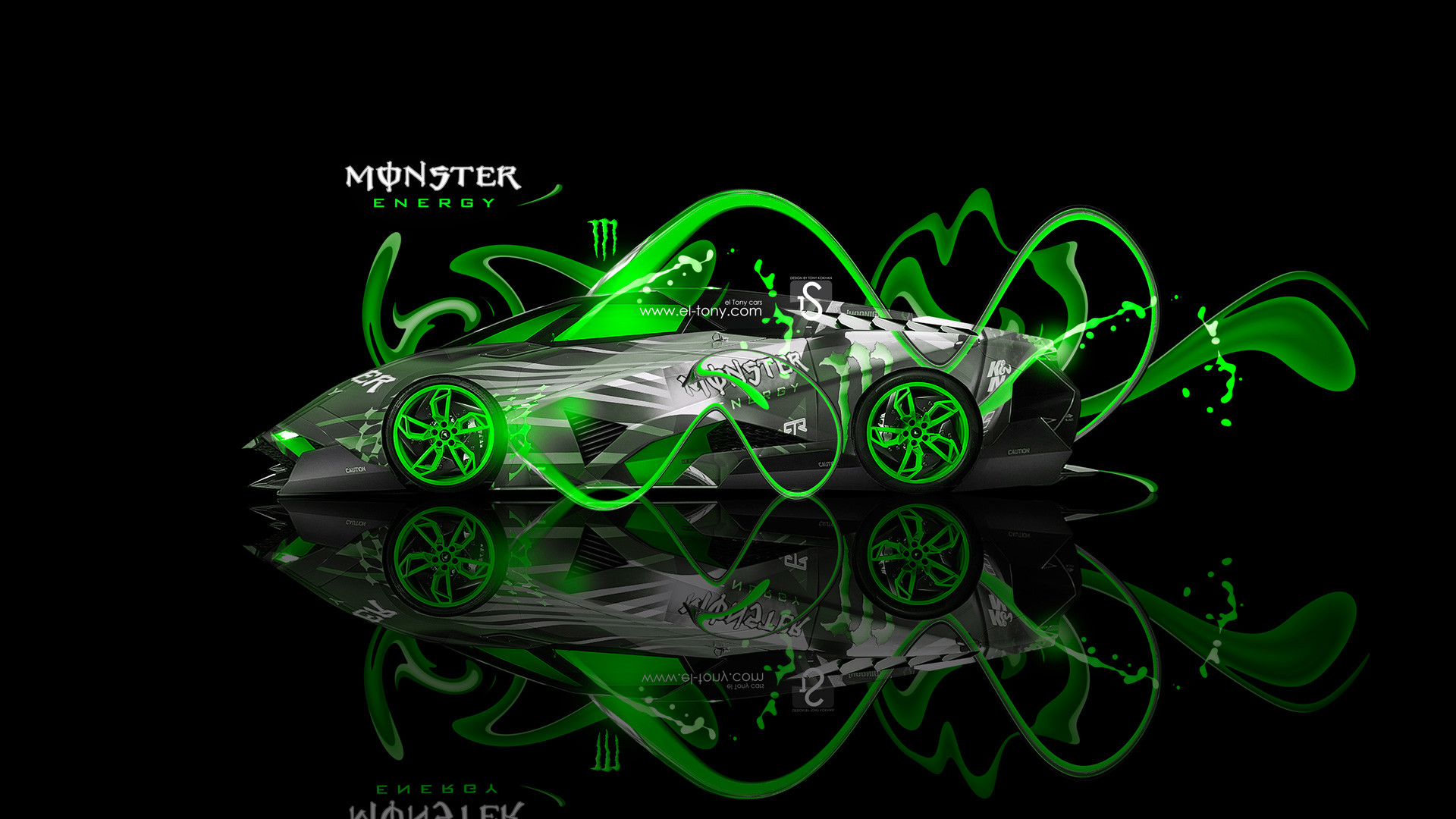 1920x1080 Monster Energy Toyota Tundra Fantasy Plastic Car 2014 | El .