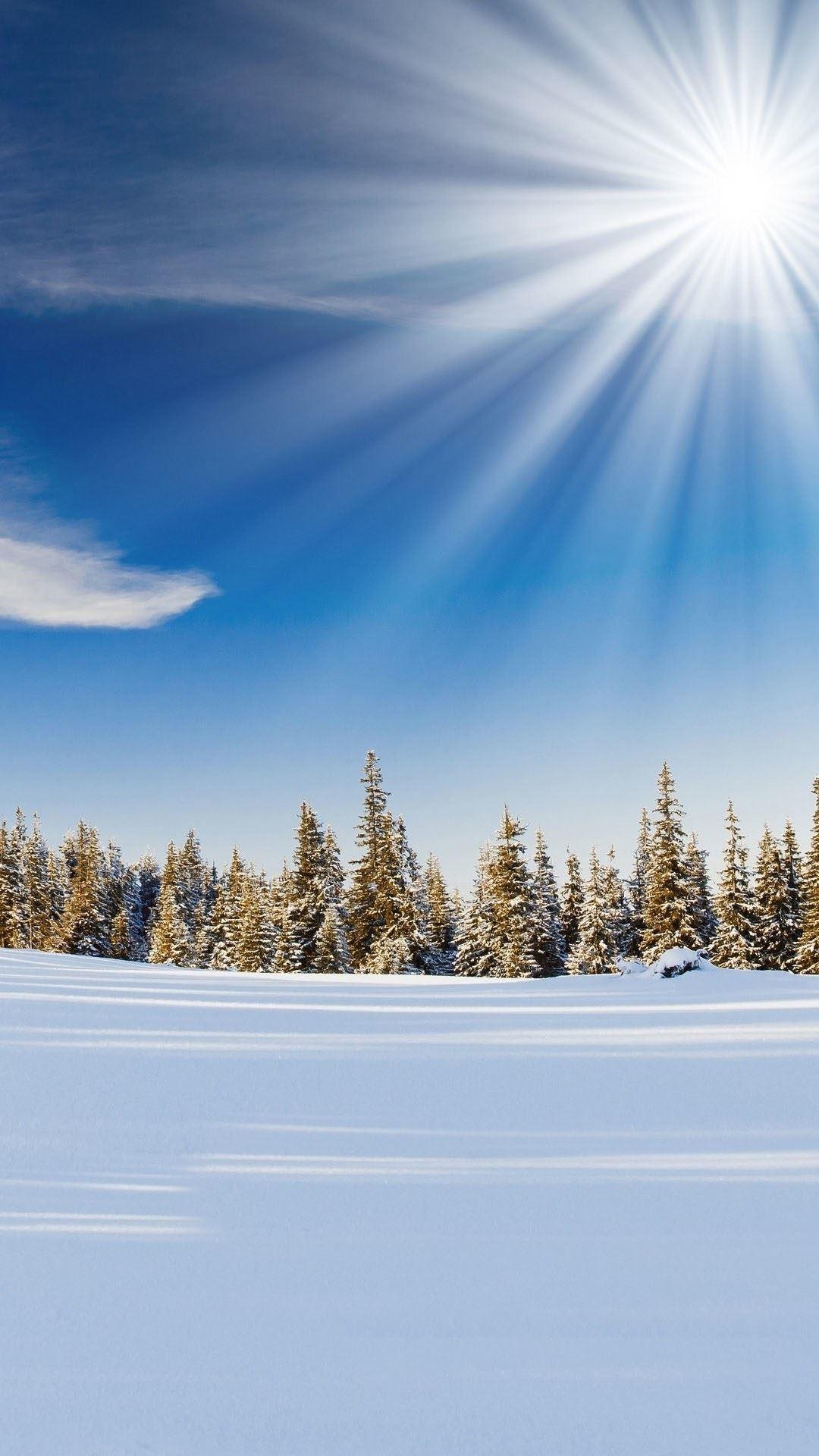 Обои На Телефон Андроид Вертикальные Зима