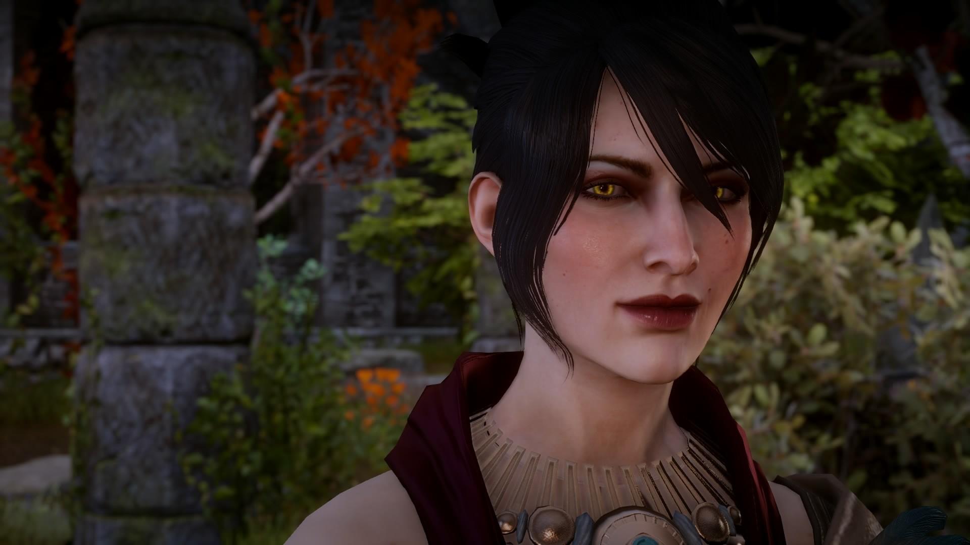 Dragon Age Morrigan Concept Art Eyes