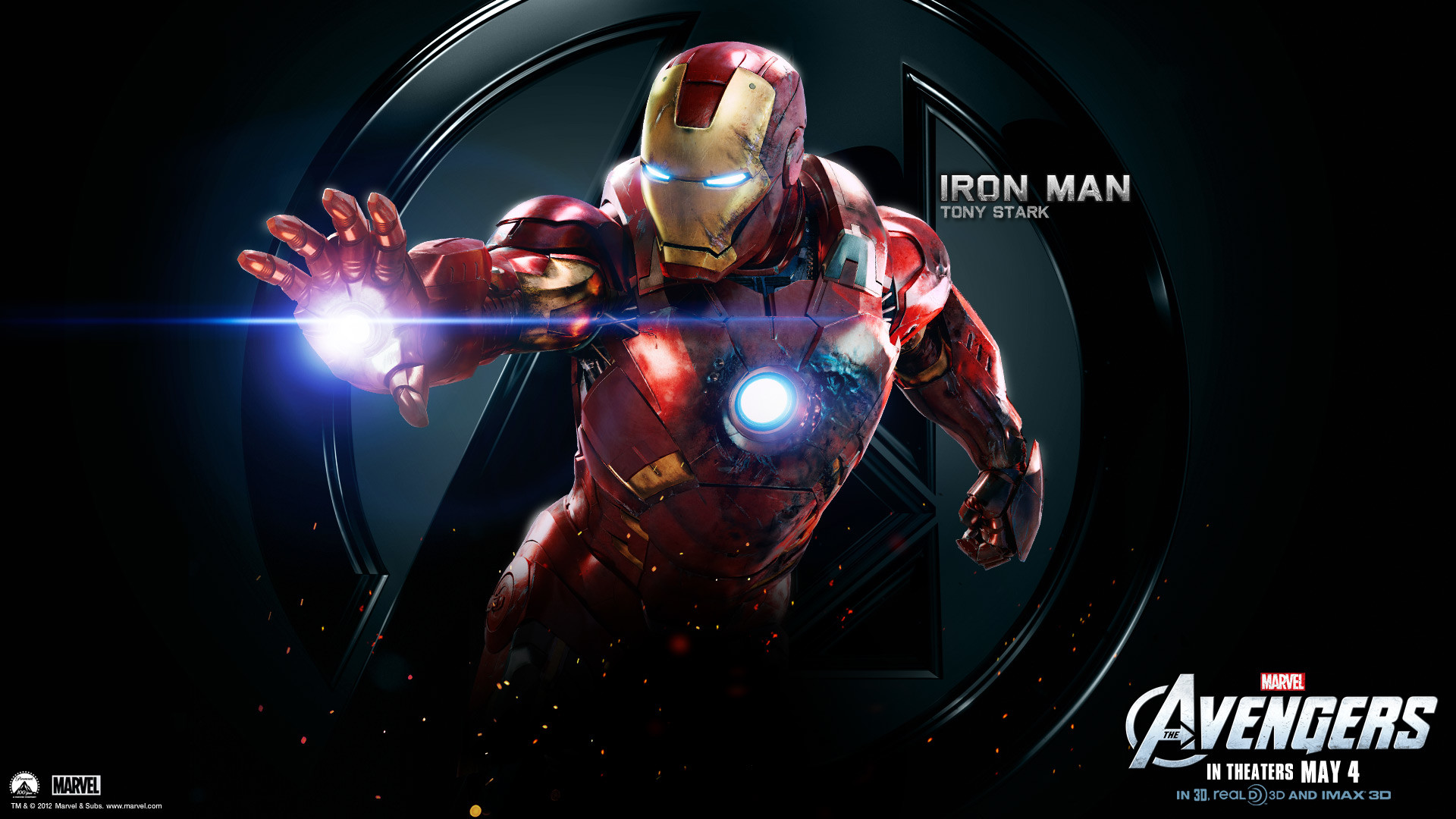 wallpaper of iron man