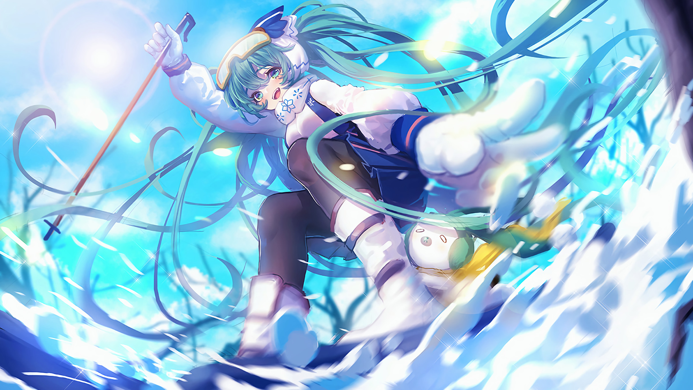 Snow Miku Wallpapers (63+ pictures)