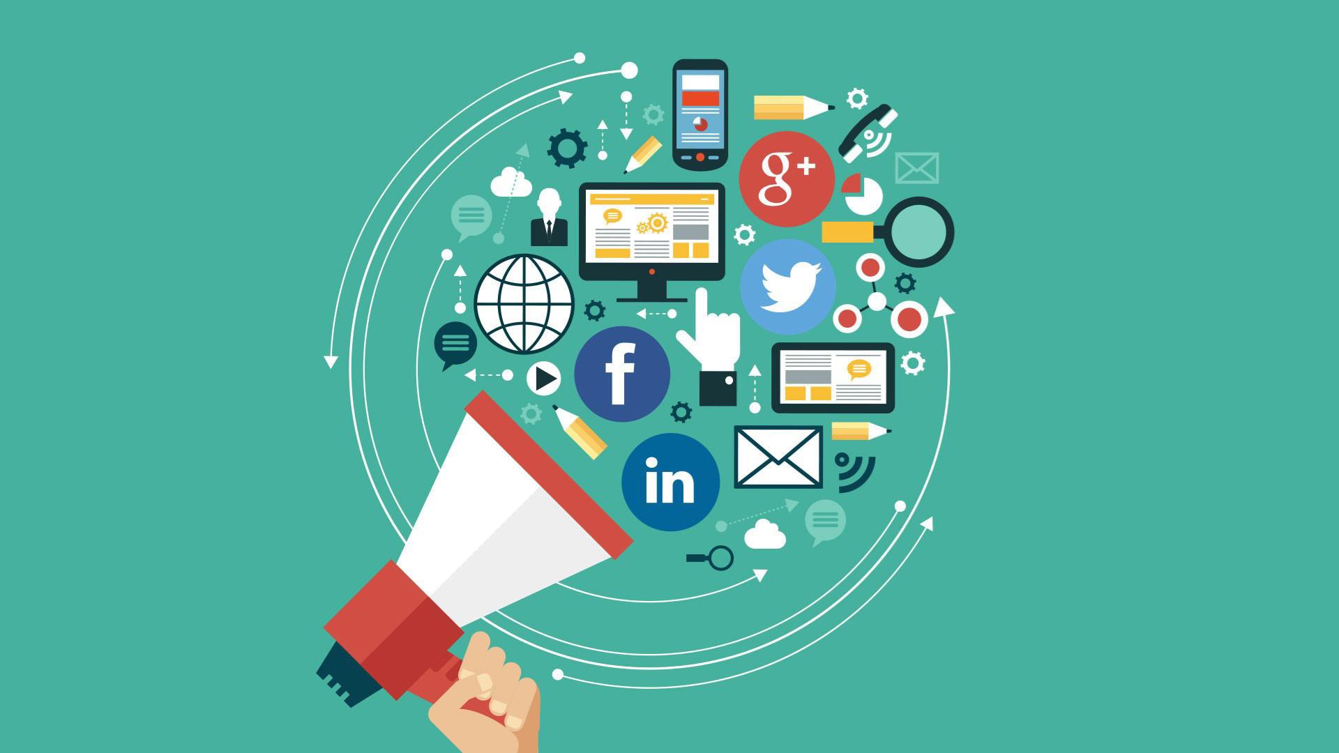 Preview wallpaper social networking, media, logos 1920x1080 1920x1080.  1920x1080