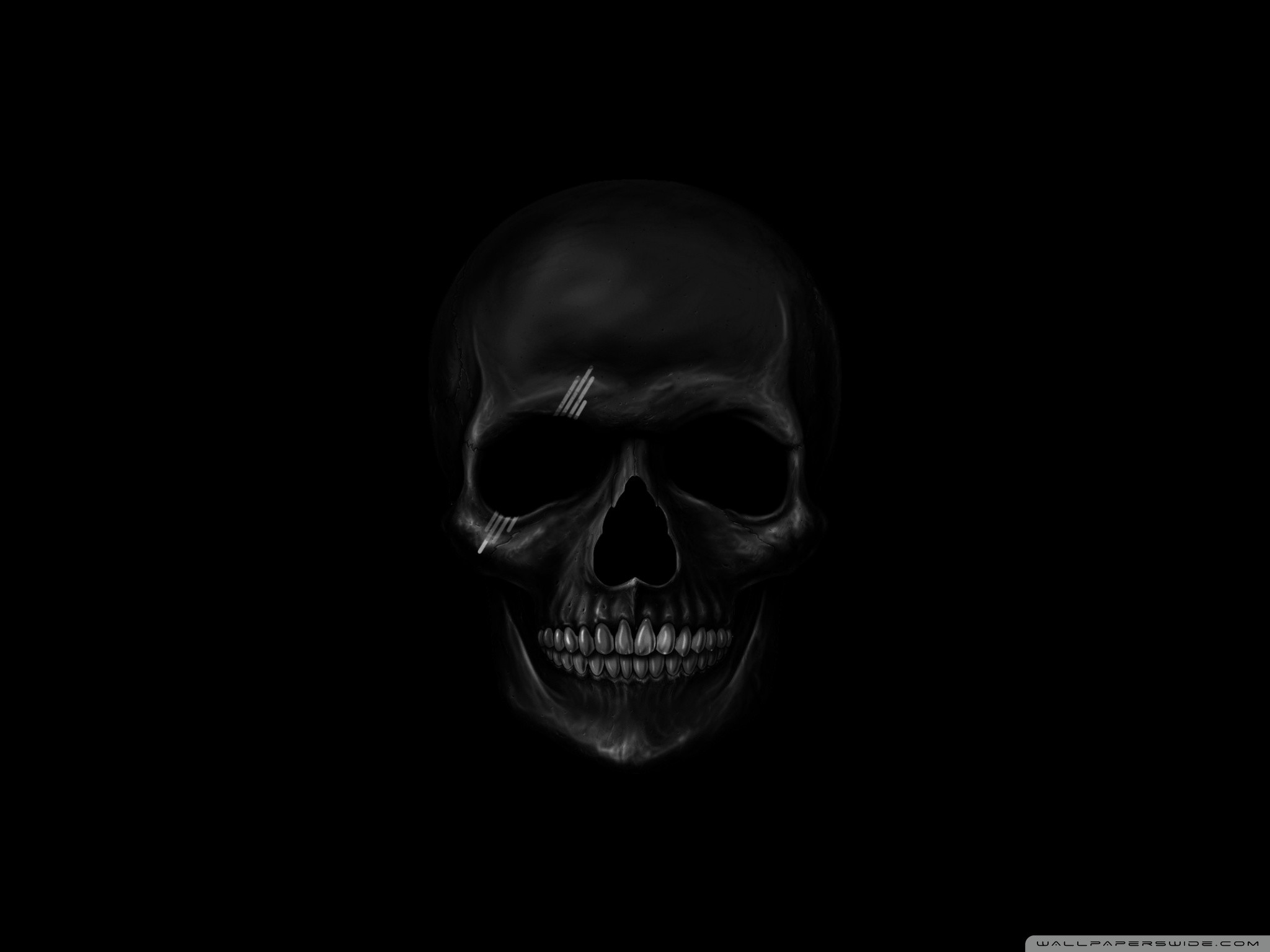 Black Skull Wallpaper 47 Pictures