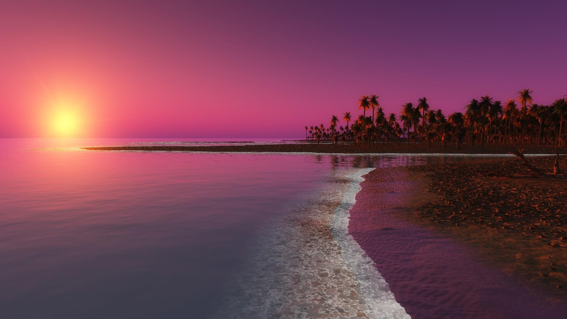 Sunset Wallpaper For Desktop 57 Pictures