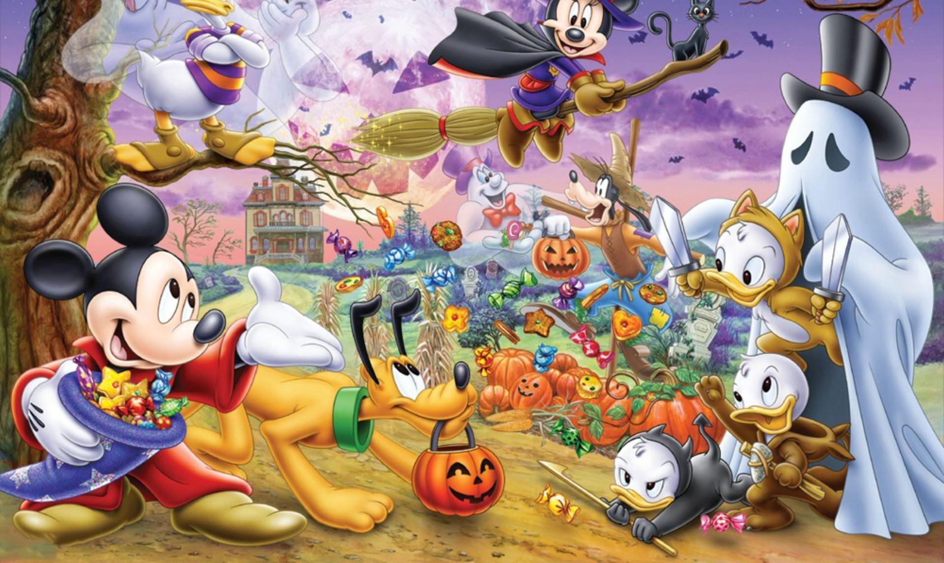 Disney Halloween Wallpaper 61 Pictures
