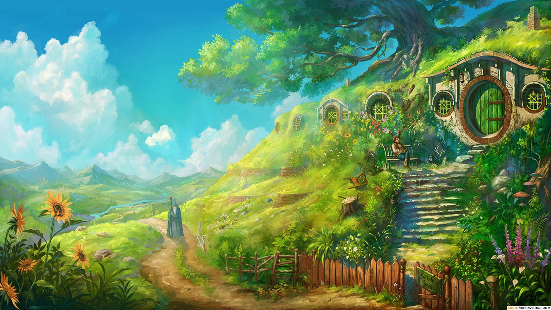 Anime Landscape Wallpapers 71 Pictures