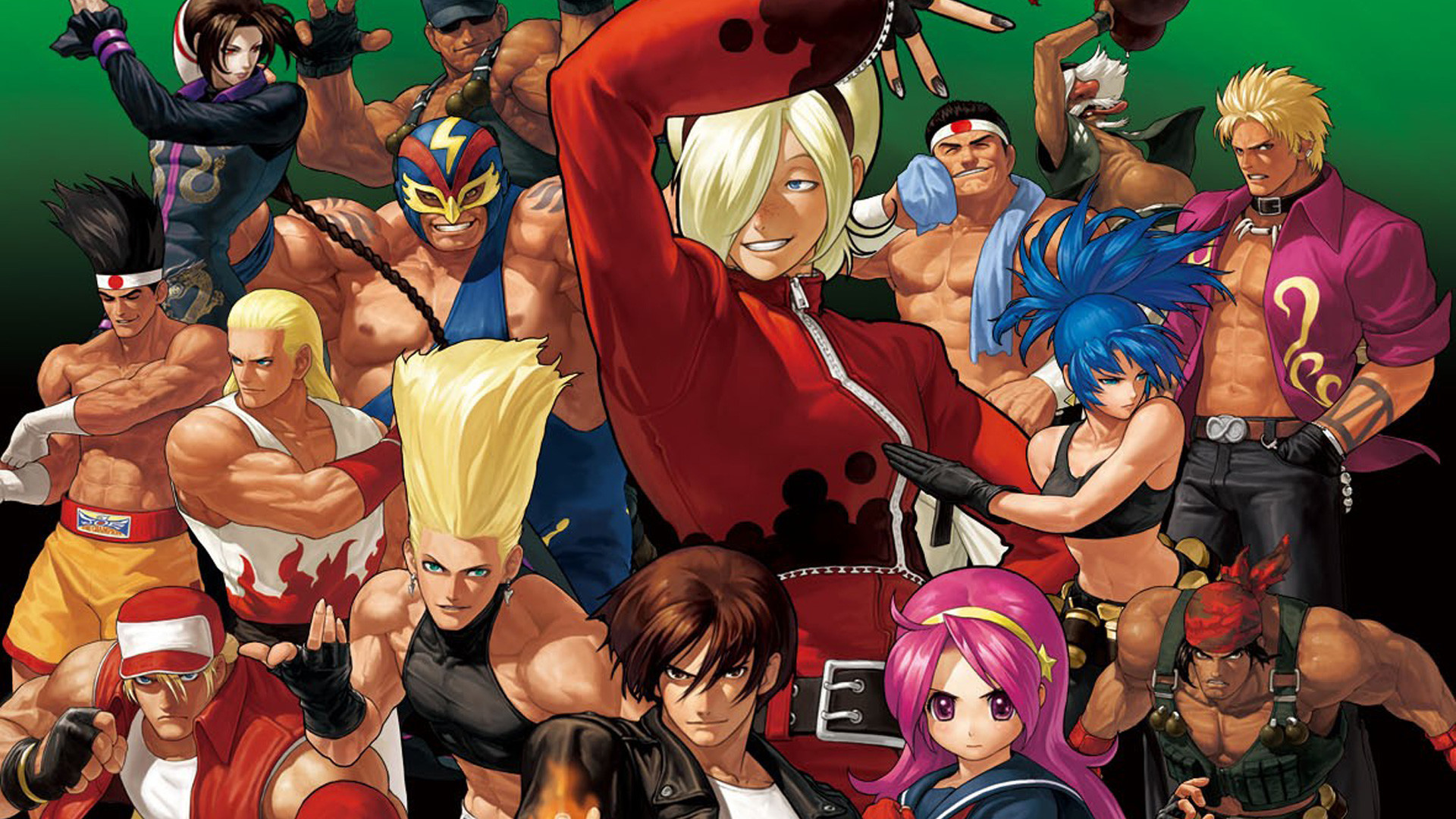 King Of Fighters Wallpapers 61 Pictures