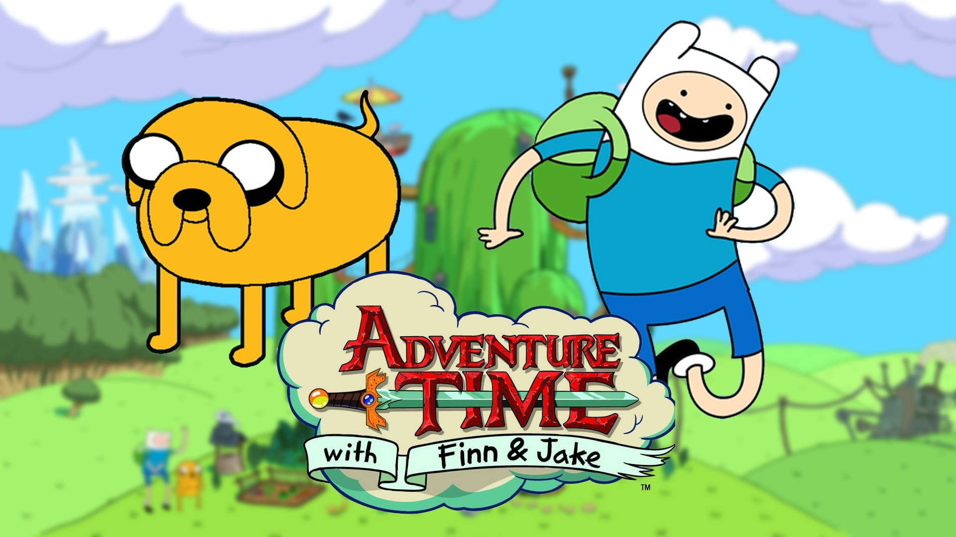 Adventure Time With Finn And Jake Wallpaper 66 Pictures