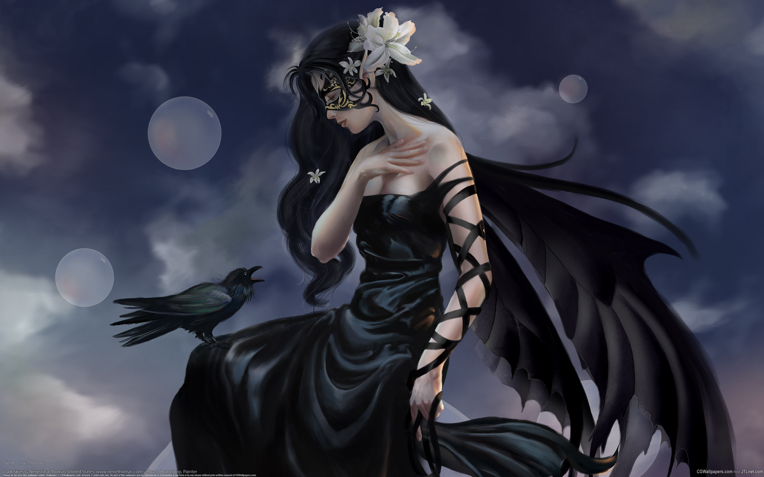 Goth Angel Wallpaper 51 Pictures