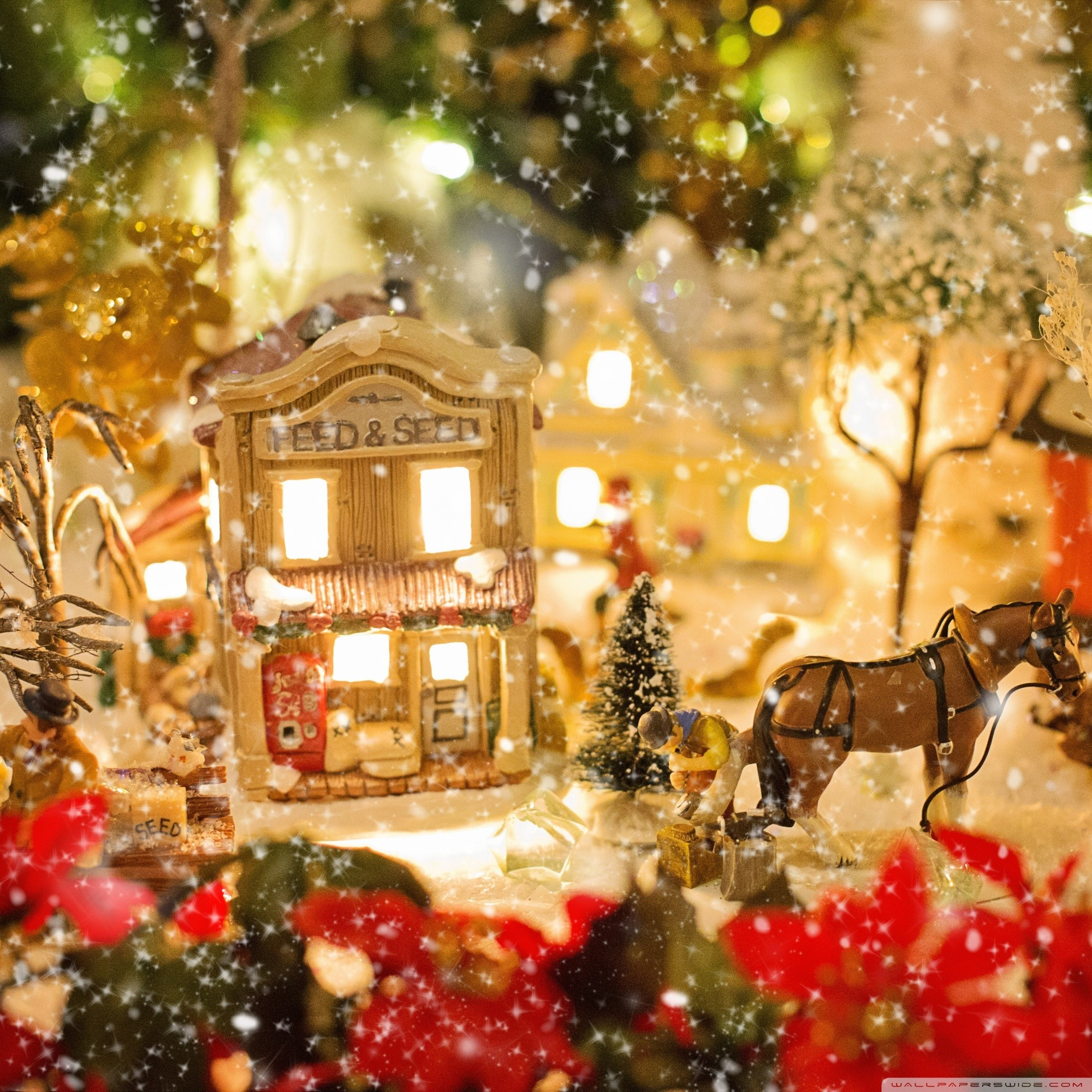 Christmas Village Wallpaper 55 Pictures