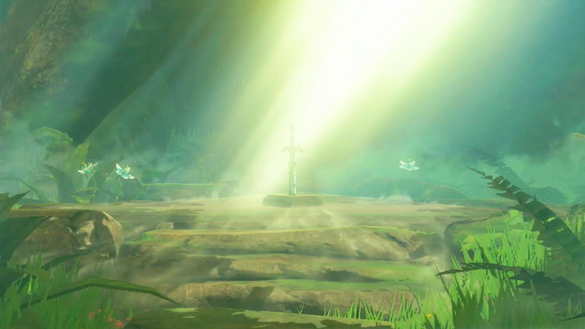 Master Sword - Zelda Breathe of the Wild ... 1920x1080