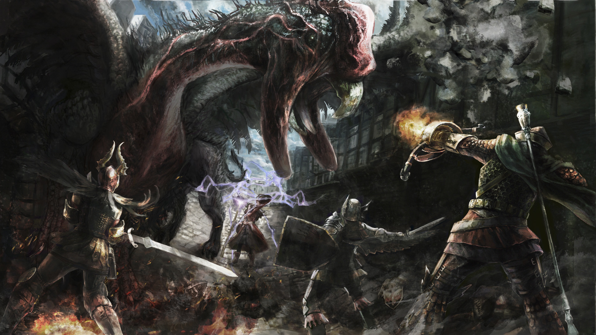 Dragons Dogma Wallpapers 87 Pictures
