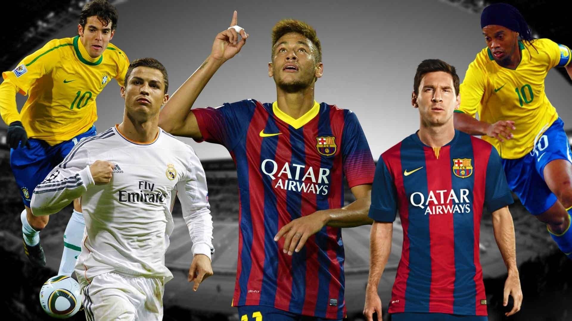 Neymar Vs Ronaldinho 2012 Messi vs Ronaldo Wallp...