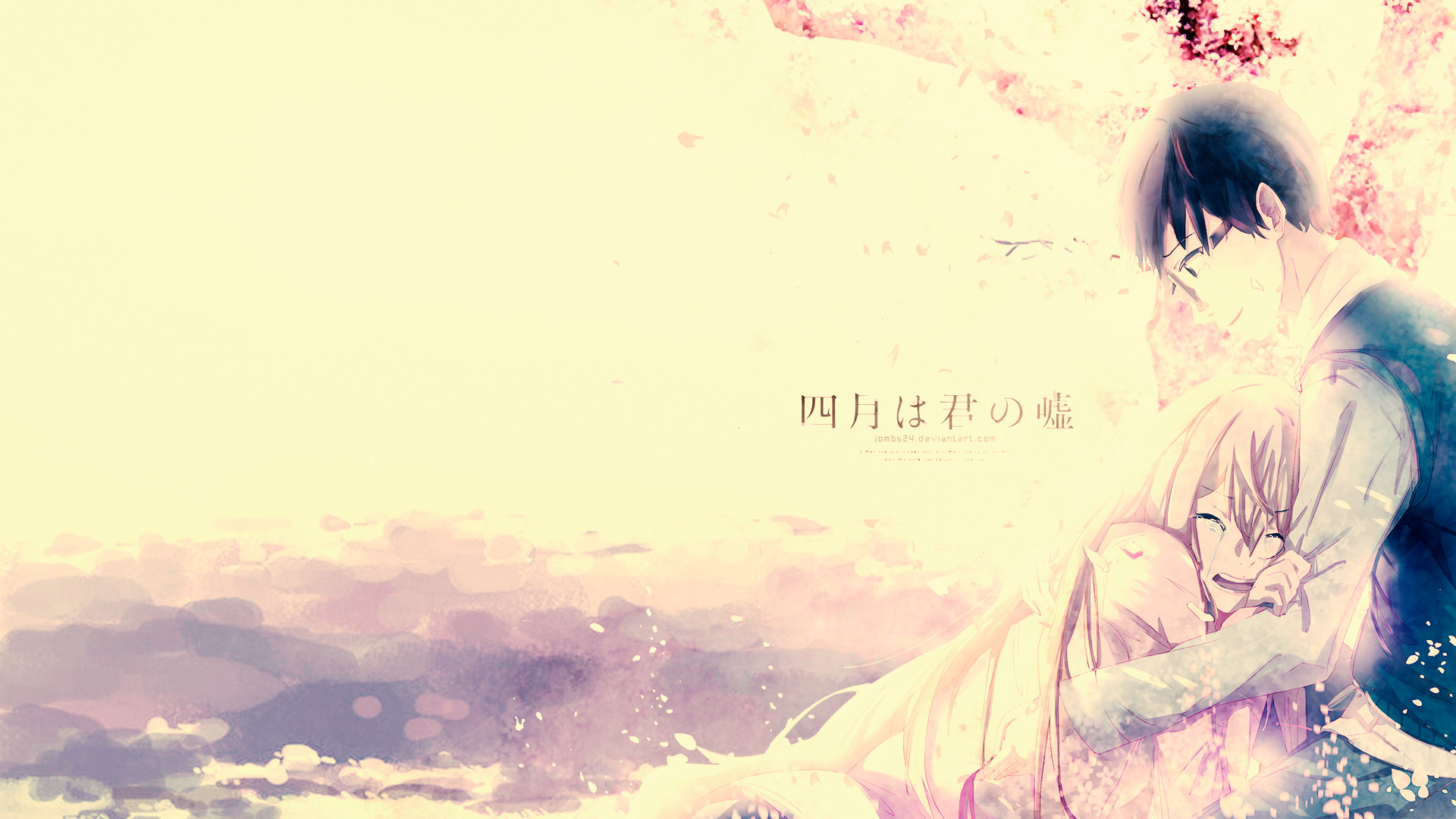 Shigatsu Wa Kimi No Uso Wallpapers 86 Pictures