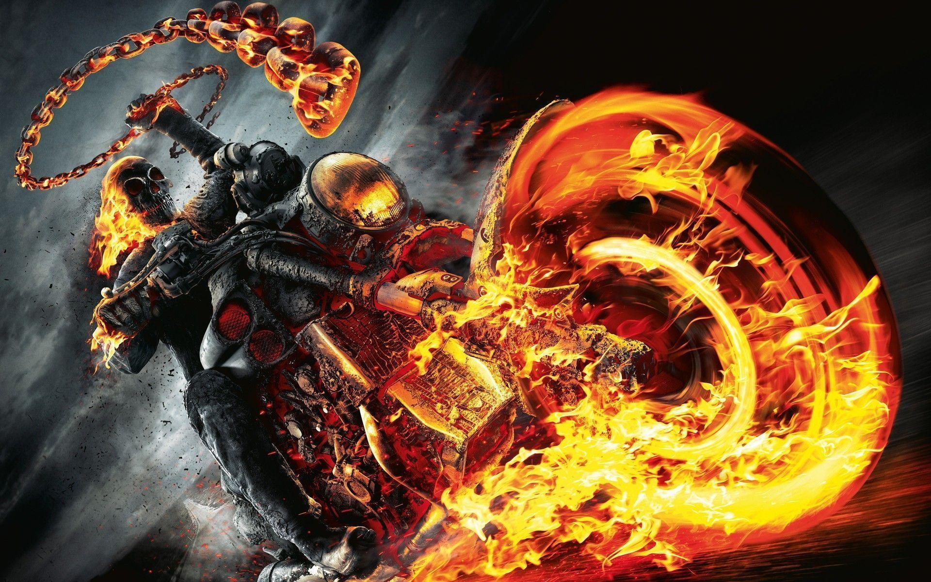 Fire Skull Wallpapers 62 Pictures