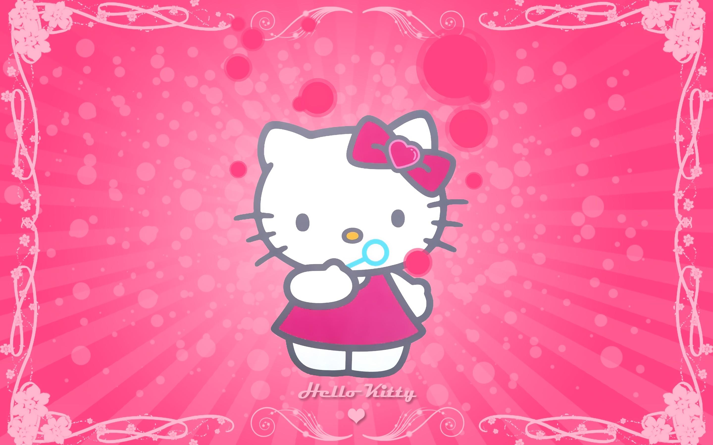 Hello Kitty Desktop Wallpapers 58 Pictures