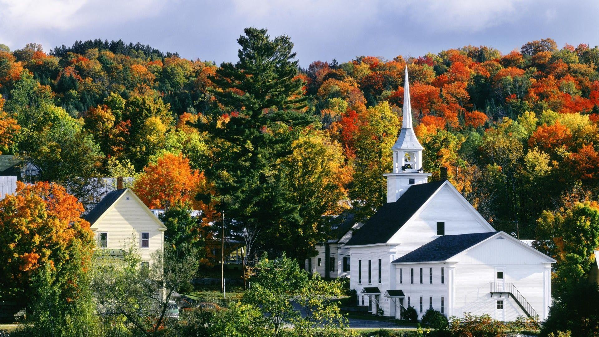 New england wallpaper 52 pictures 1920x1080 autumn in new england vermont 1920x1080 full hd wallpaper voltagebd Image collections