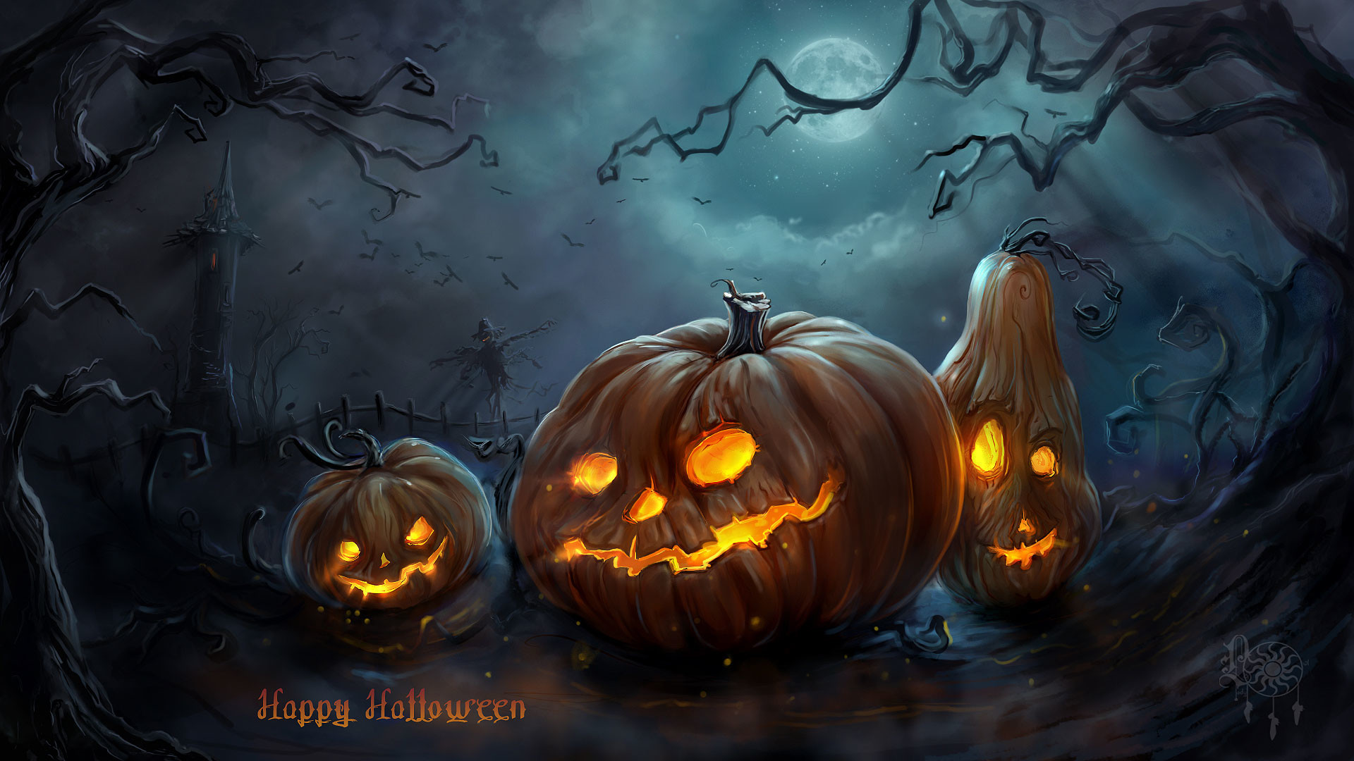 Halloween Backgrounds 62 Pictures