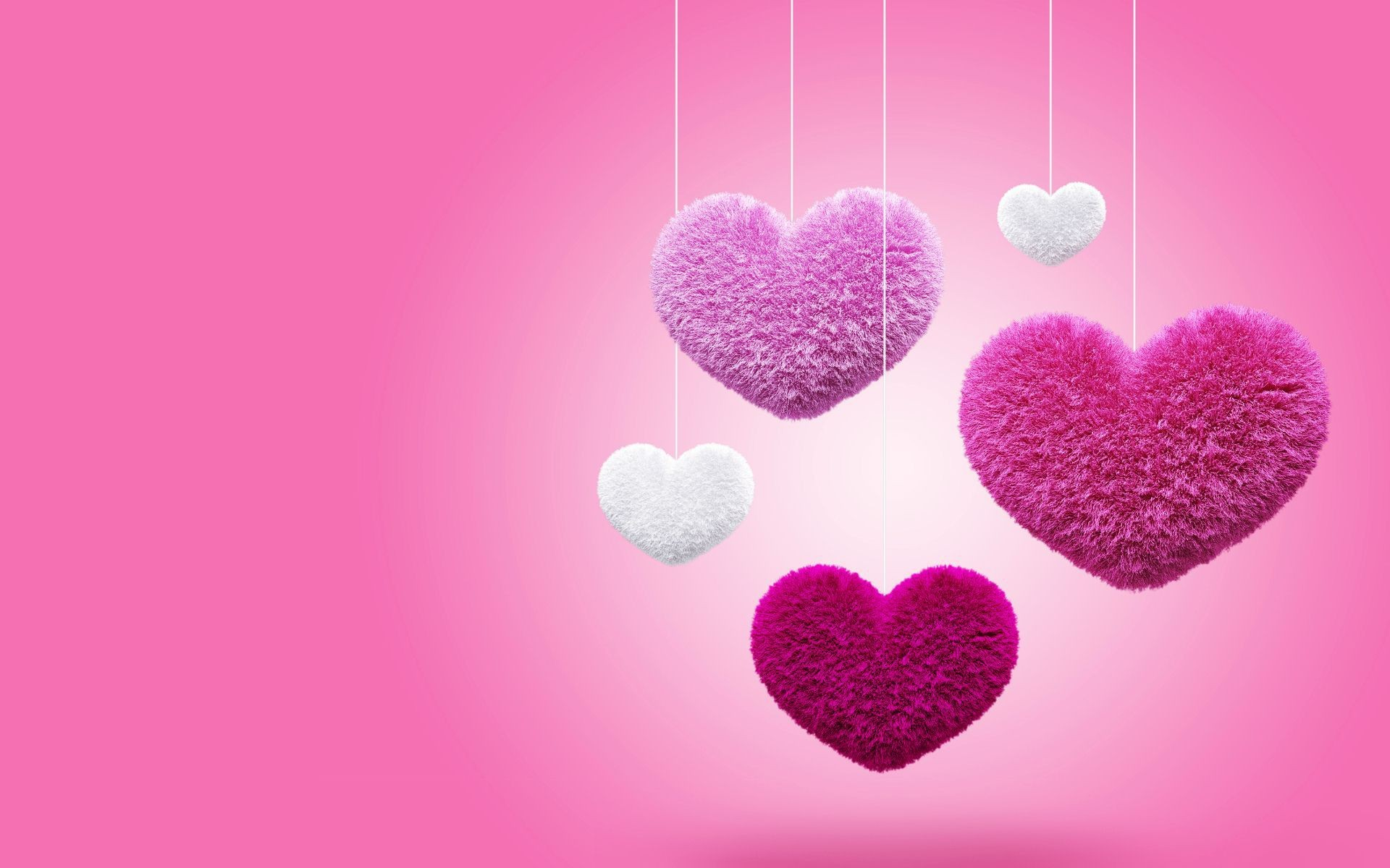1920x1080 Free 3d Red Love Hd Wallpapers Download