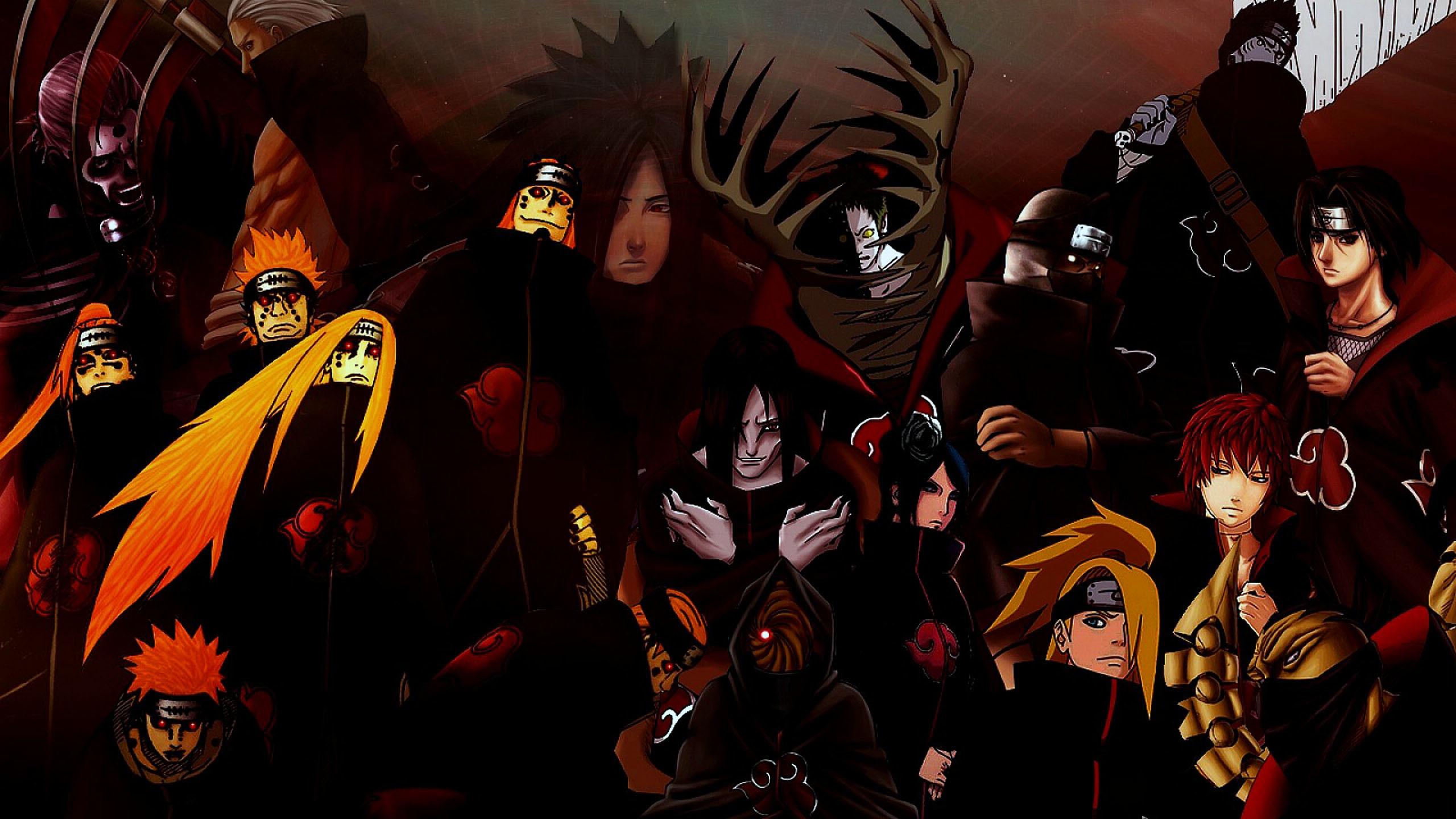 Download 500+ Wallpaper Naruto Akatsuki Hd HD Paling Keren